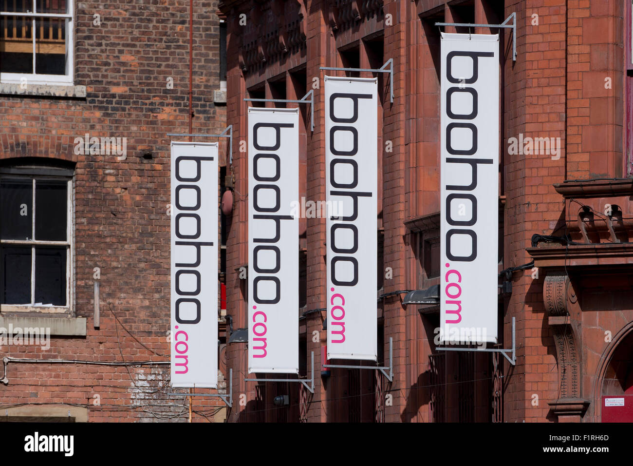The offices of Boohoo.com online fashion retailer located on Dale Street in the Piccadilly area of Manchester - Stock Image