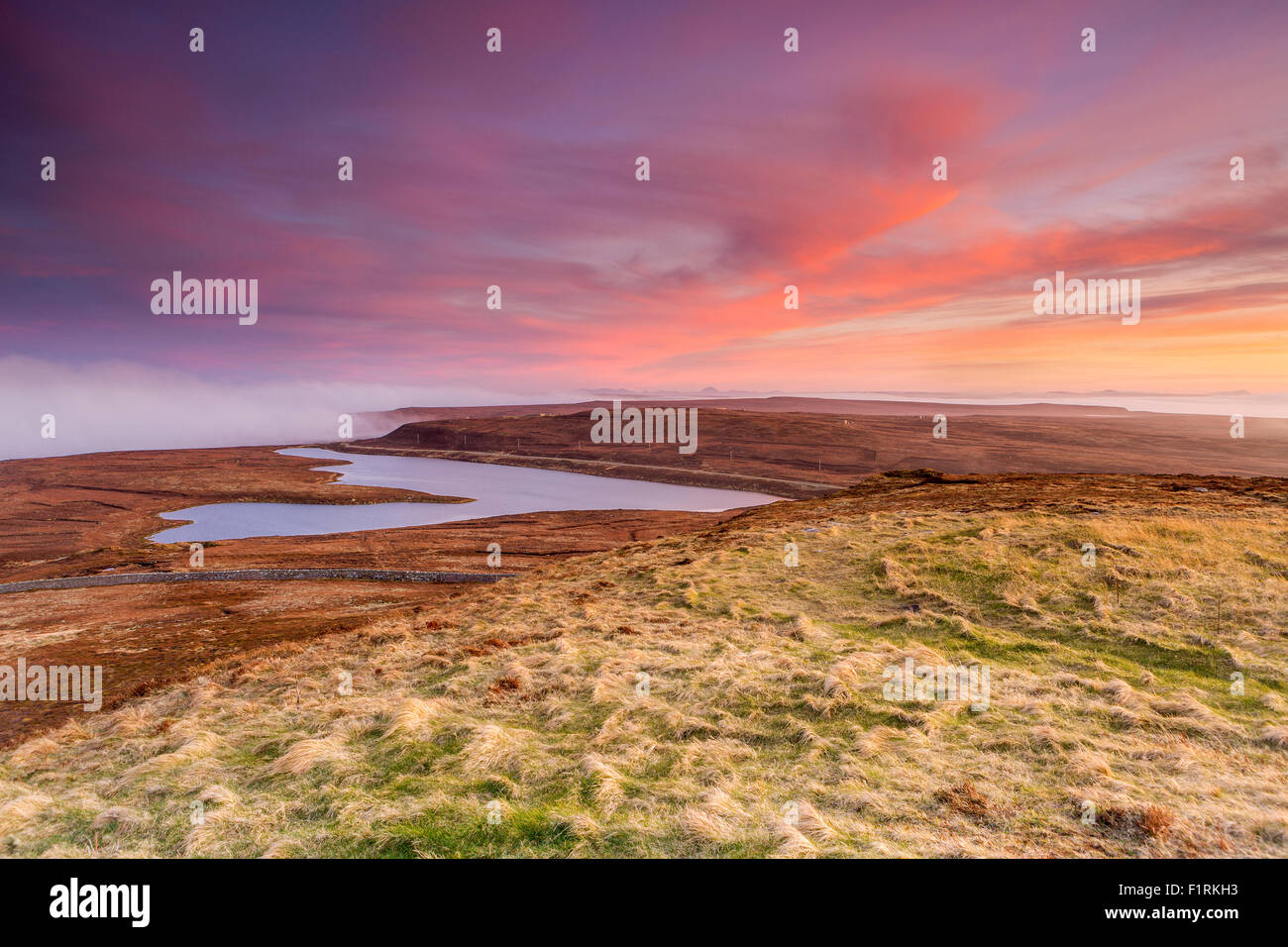 Dunnet Head a most northerly point of mainland Britain, Caithness, Highland, Scotland, United Kingdom, Europe. - Stock Image