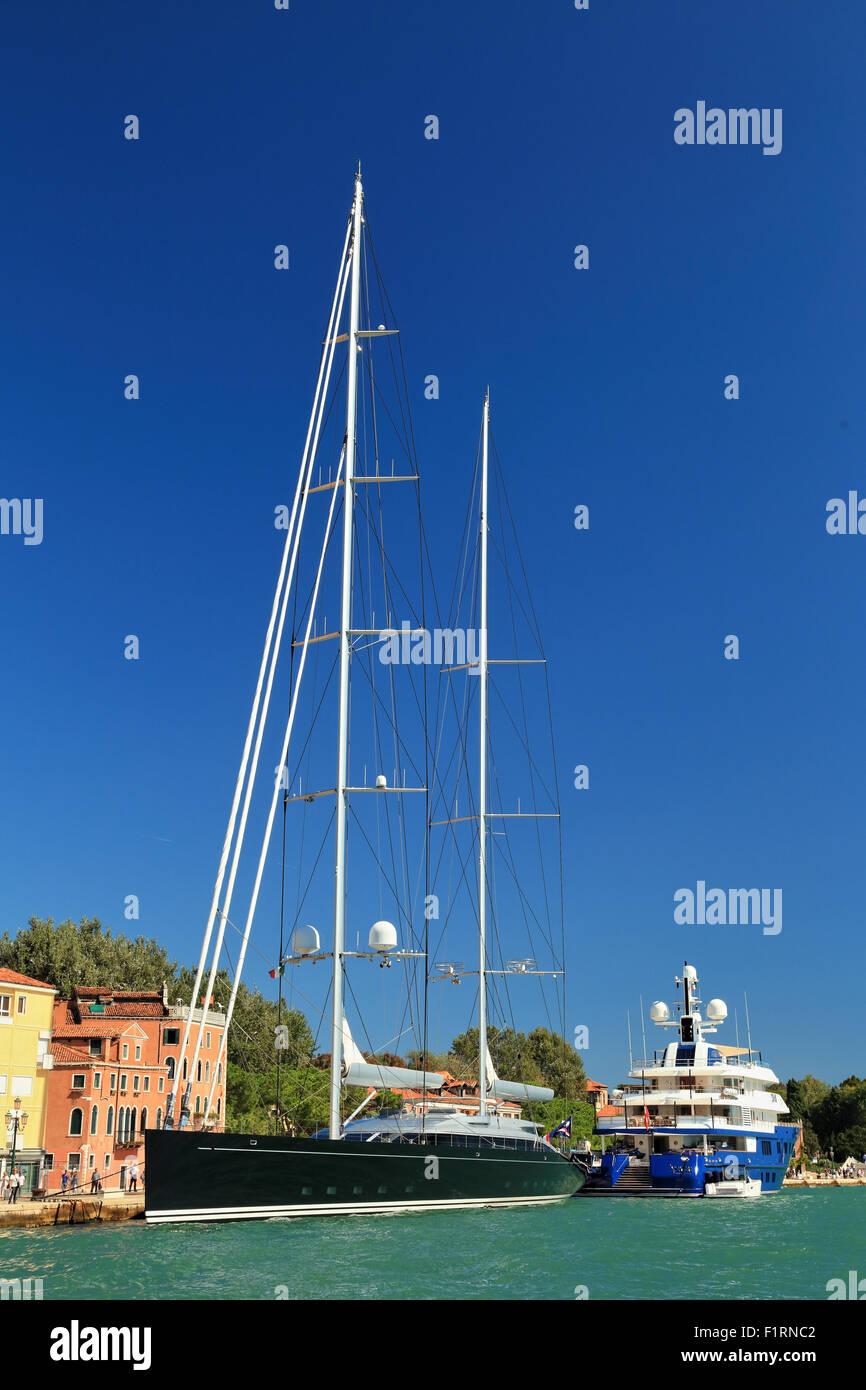 Sailing yacht Vertigo, IMO 1011147 - Stock Image