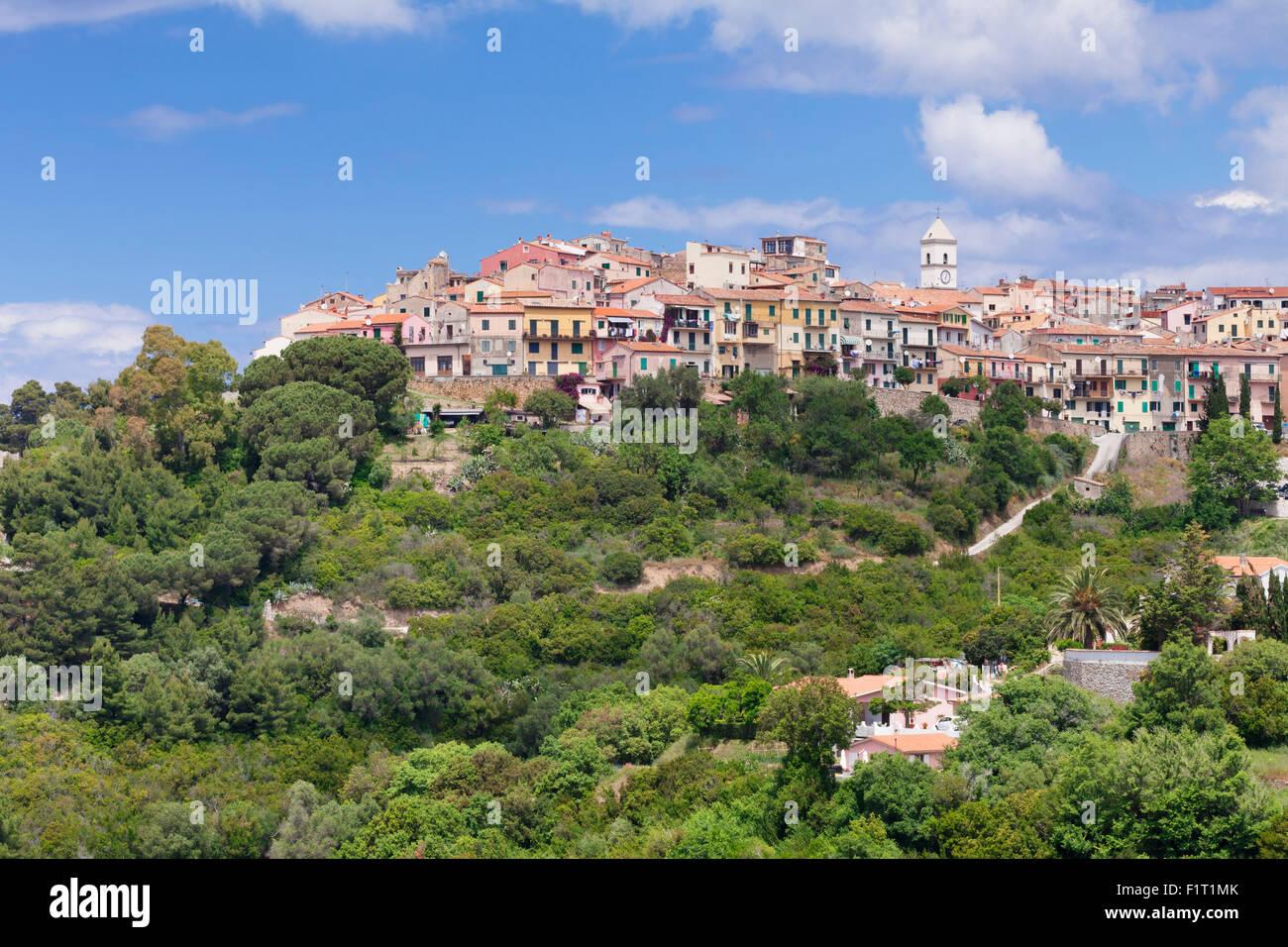 Capoliveri, Island of Elba, Livorno Province, Tuscany, Italy, Europe - Stock Image