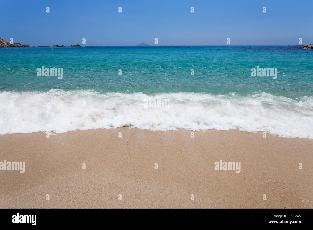 Beach of Cavoli, Island of Elba, Livorno Province, Tuscany, Italy, Europe - Stock Image