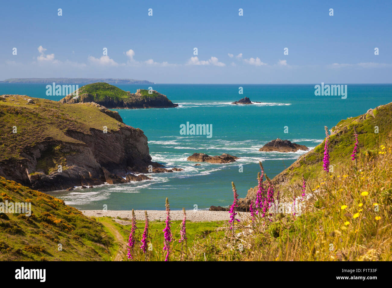 Solva, Pembrokeshire, Wales, United Kingdom, Europe - Stock Image