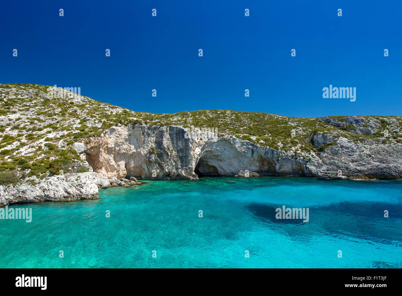 Milos Island, Cyclades Islands, Greek Islands, Greece, Europe - Stock Image