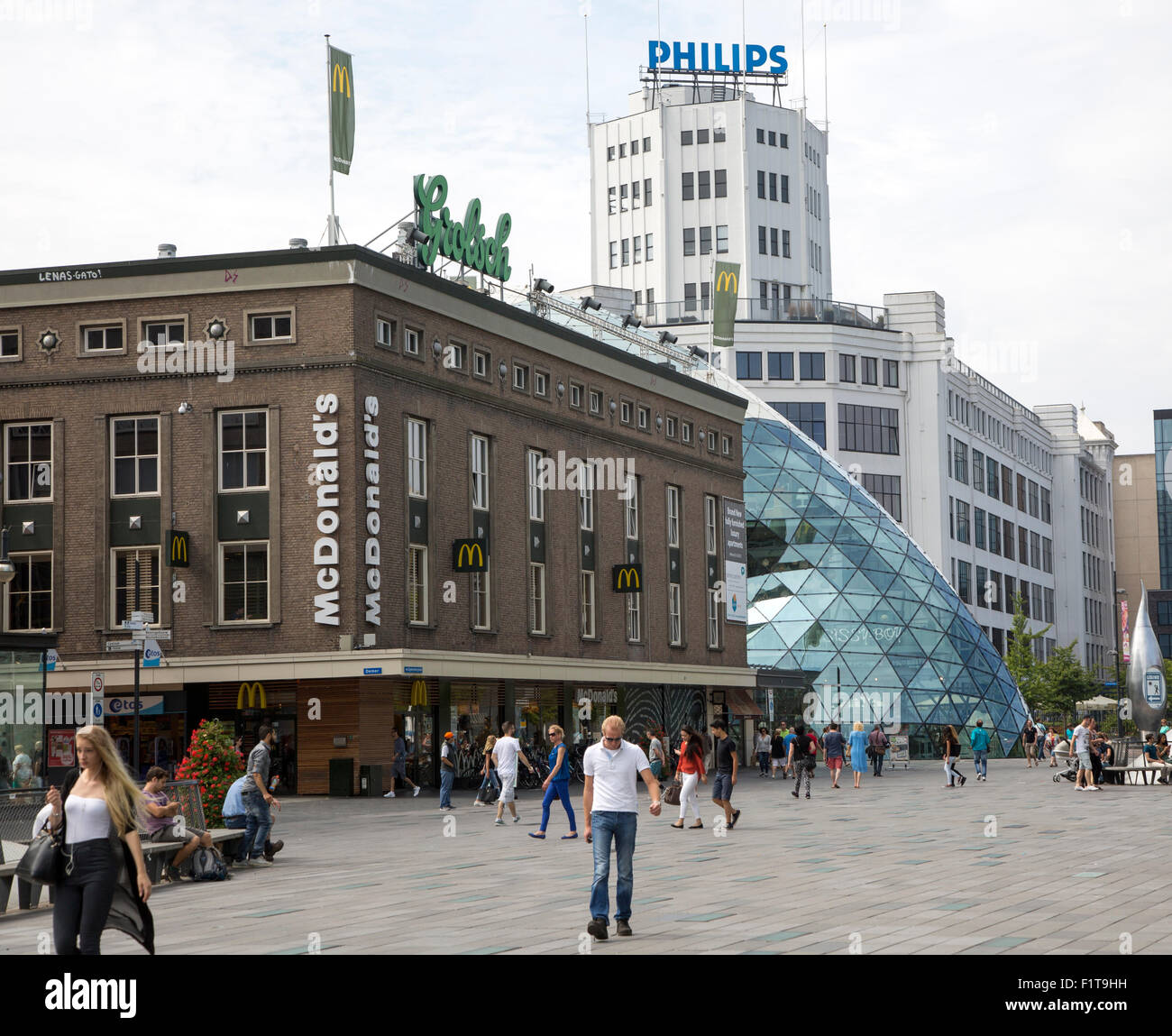 Philips Light Tower In Eindhoven: The Netherlands Philips Electronics Stock Photos & The