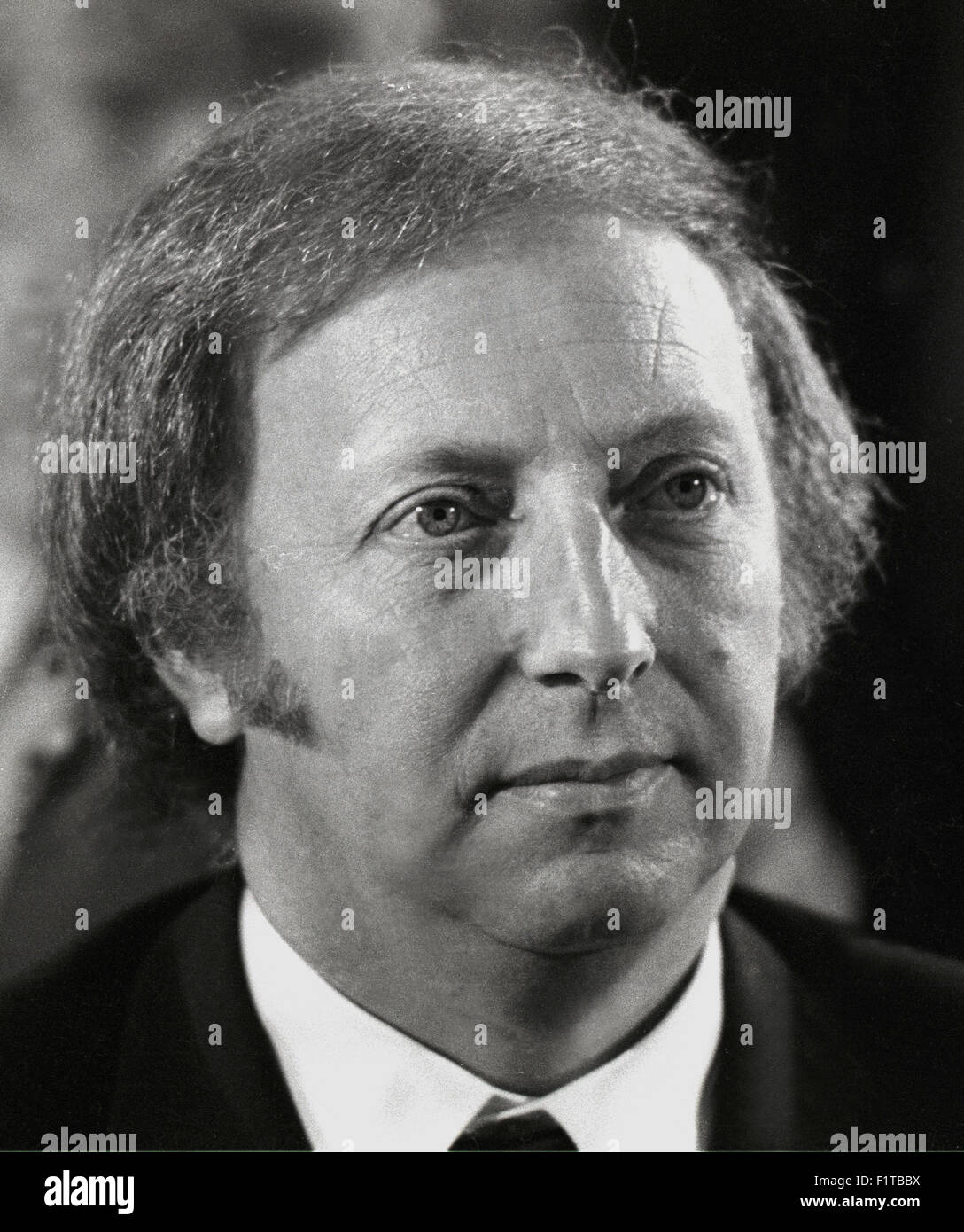 Arthur Scargill is a British politician and trade unionist who was president of the National Union of Mineworkers - Stock Image