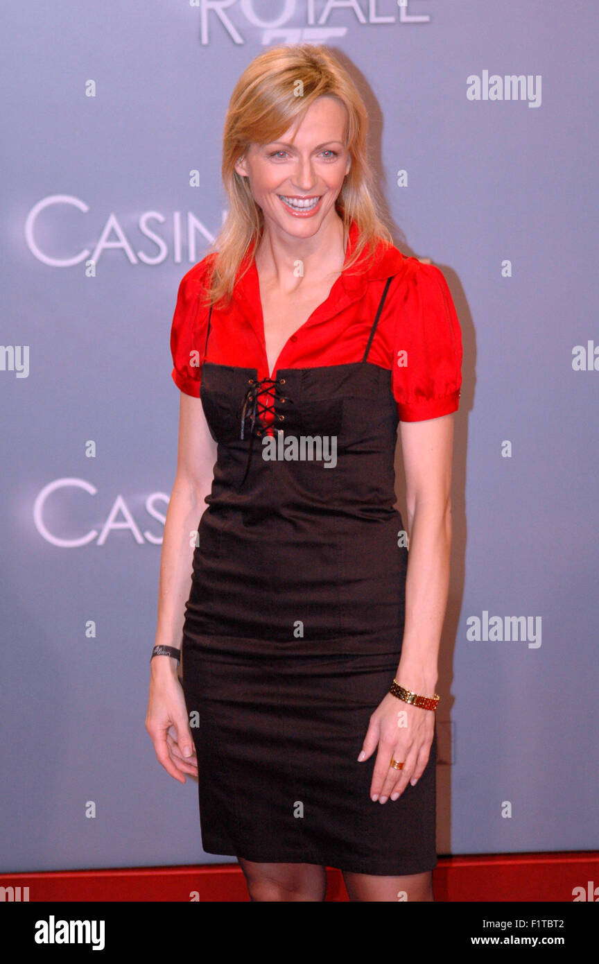 Inge Posmyk - Deutschlandpremiere des neuen James-Bond-Films 'Casino Royale', Sony Center, Potsdamer Platz, - Stock Image