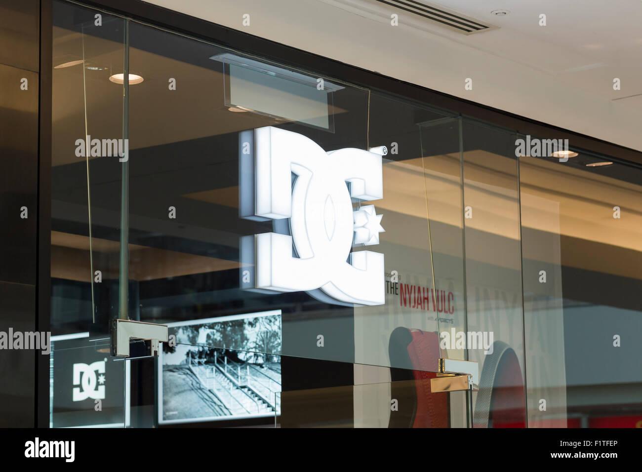 Dolce & Gabbana logo - Stock Image