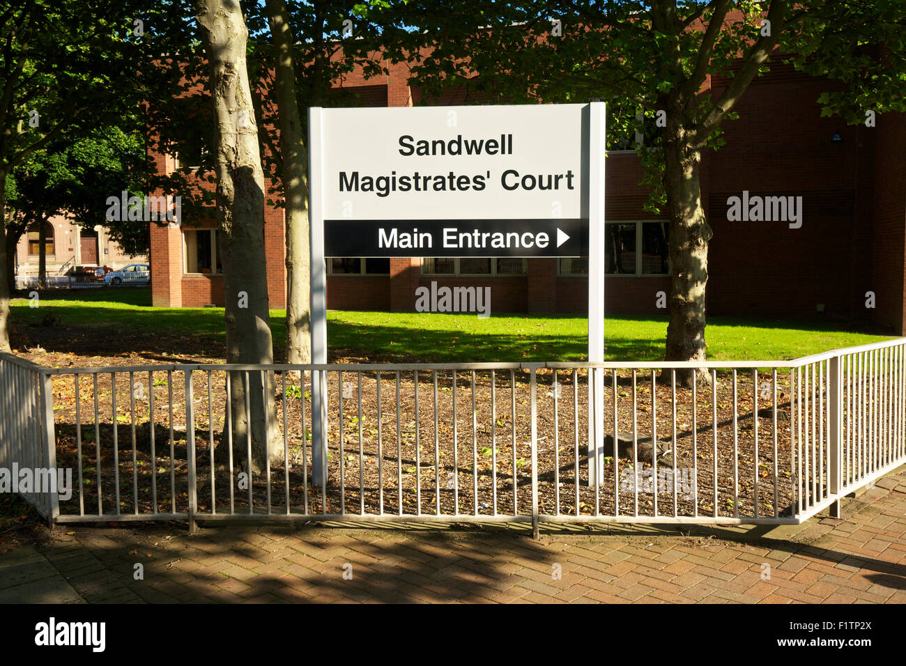 Sandwell Magistrates Court Oldbury West Midlands England UK - Stock Image