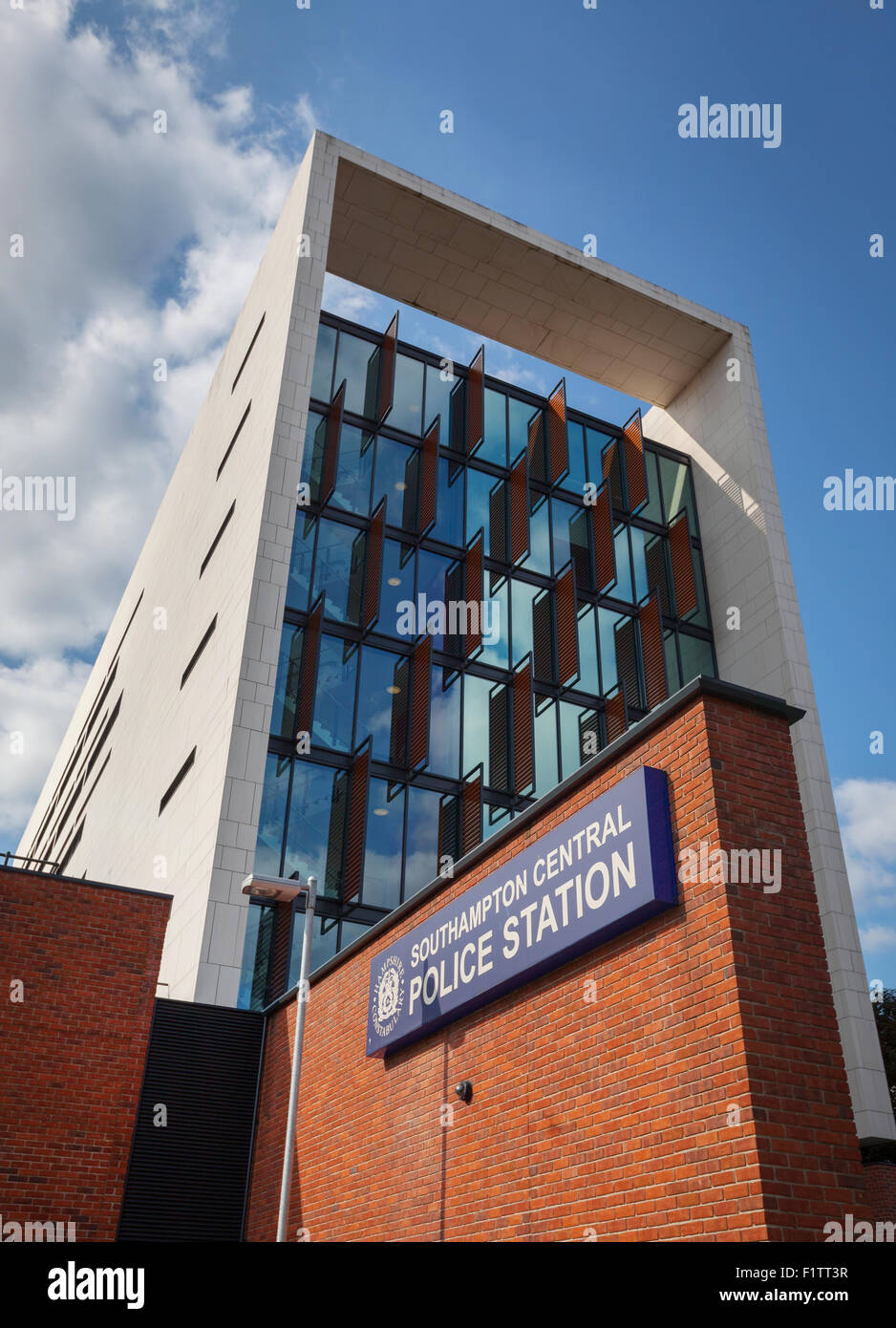 Southampton Central Police Station, Southampton, Hampshire, UK - Stock Image