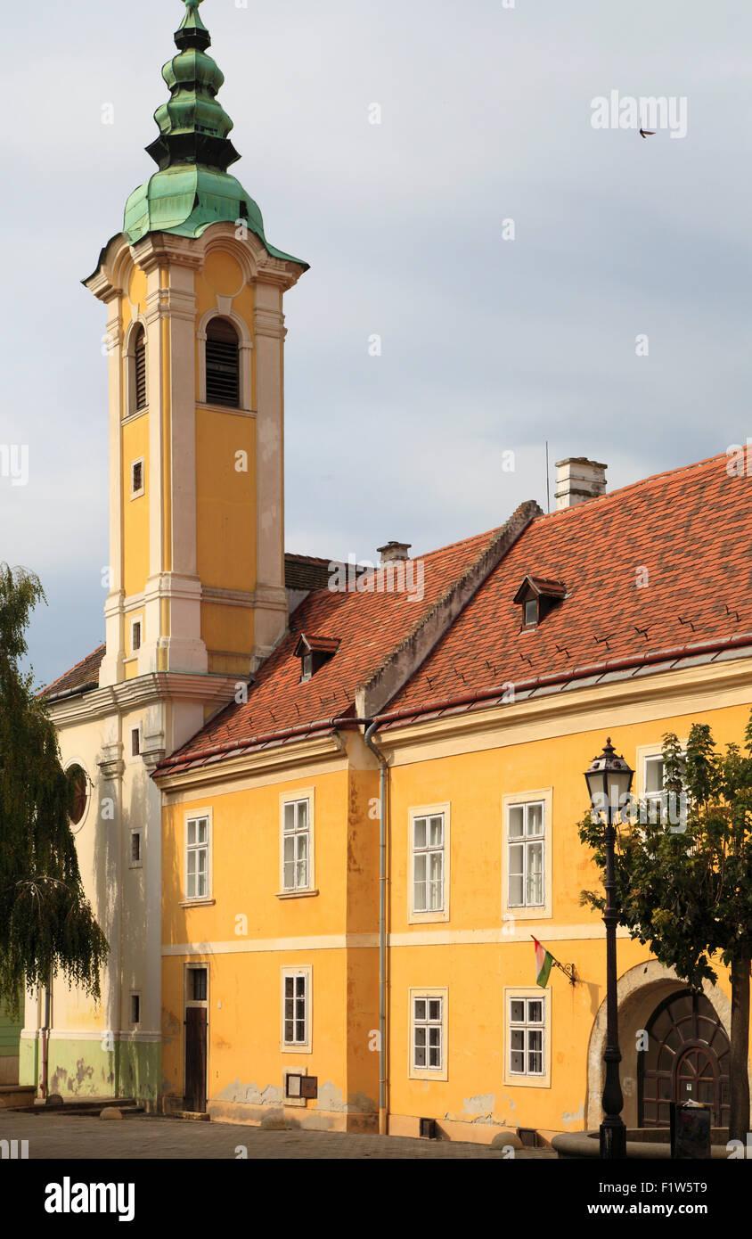 Hungary Győr Hungarian Hospice Magyar Ispita - Stock Image