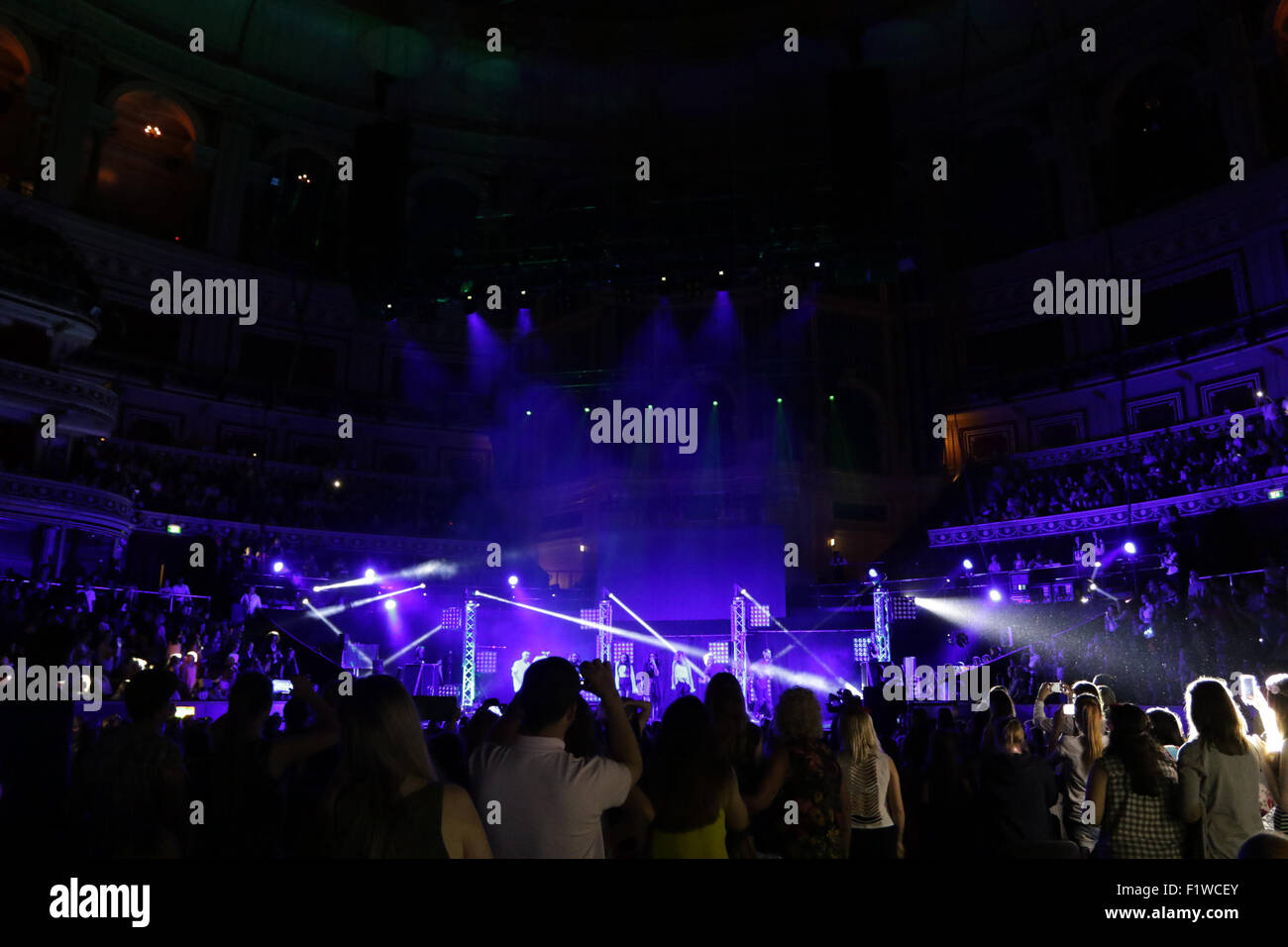 London, UK, 7th June 2015: Atmosphere at the Frankie & Benney's Rays of Sunshine Concert at The Royal Albert Hall Stock Photo