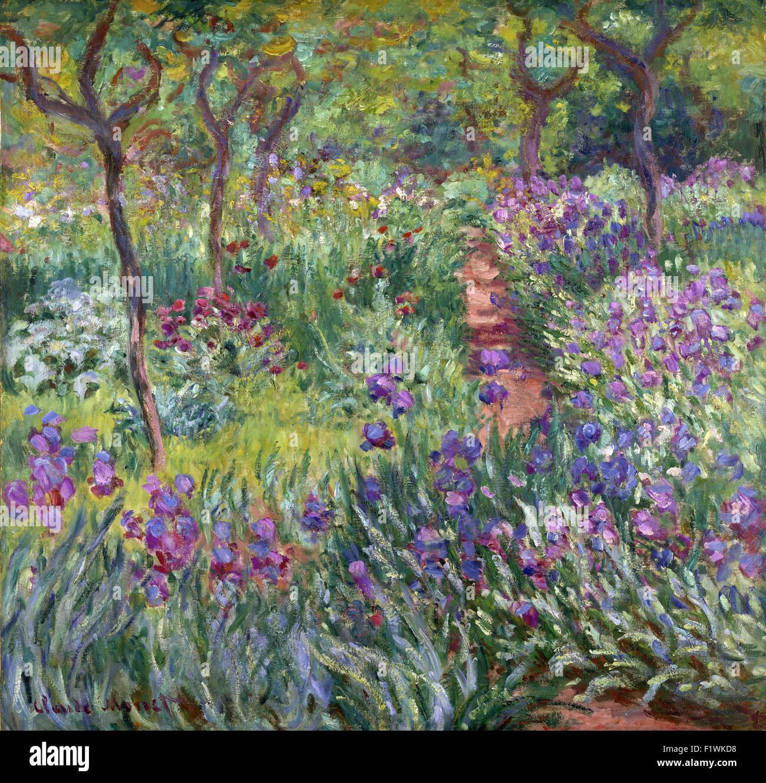 Claude Monet   The Artistu0027s Garden In Giverny