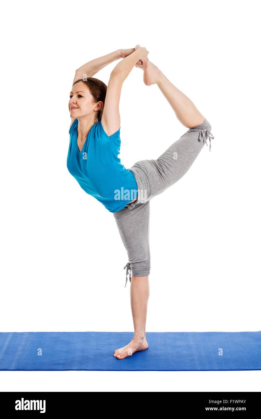 Young Beautiful Woman Yoga Instructor Stock Photos Amp Young