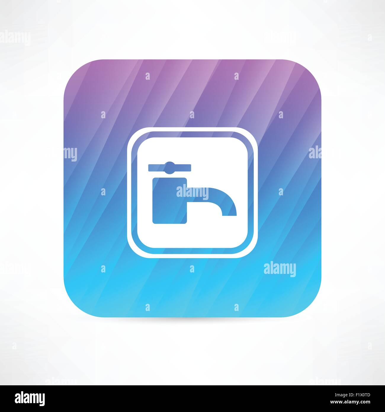 water tap icon - Stock Vector