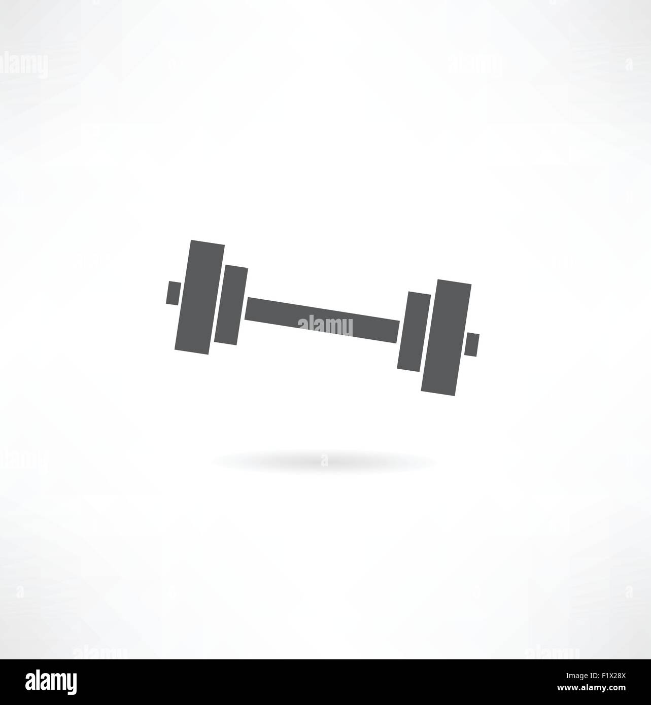 vector chromed weights - Stock Vector