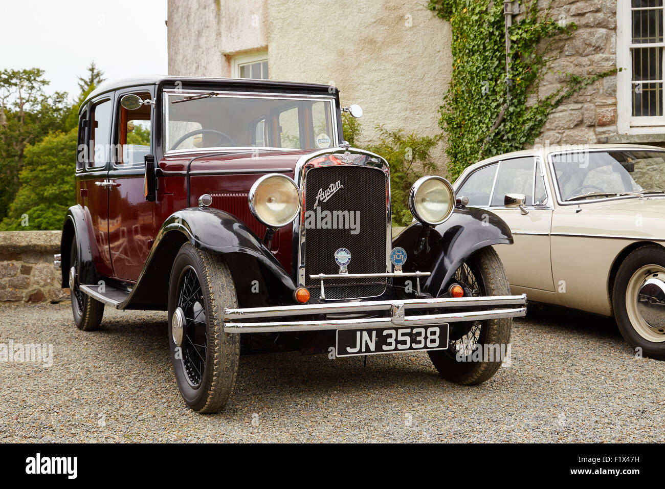 Old Austin Car High Resolution Stock Photography And Images Alamy