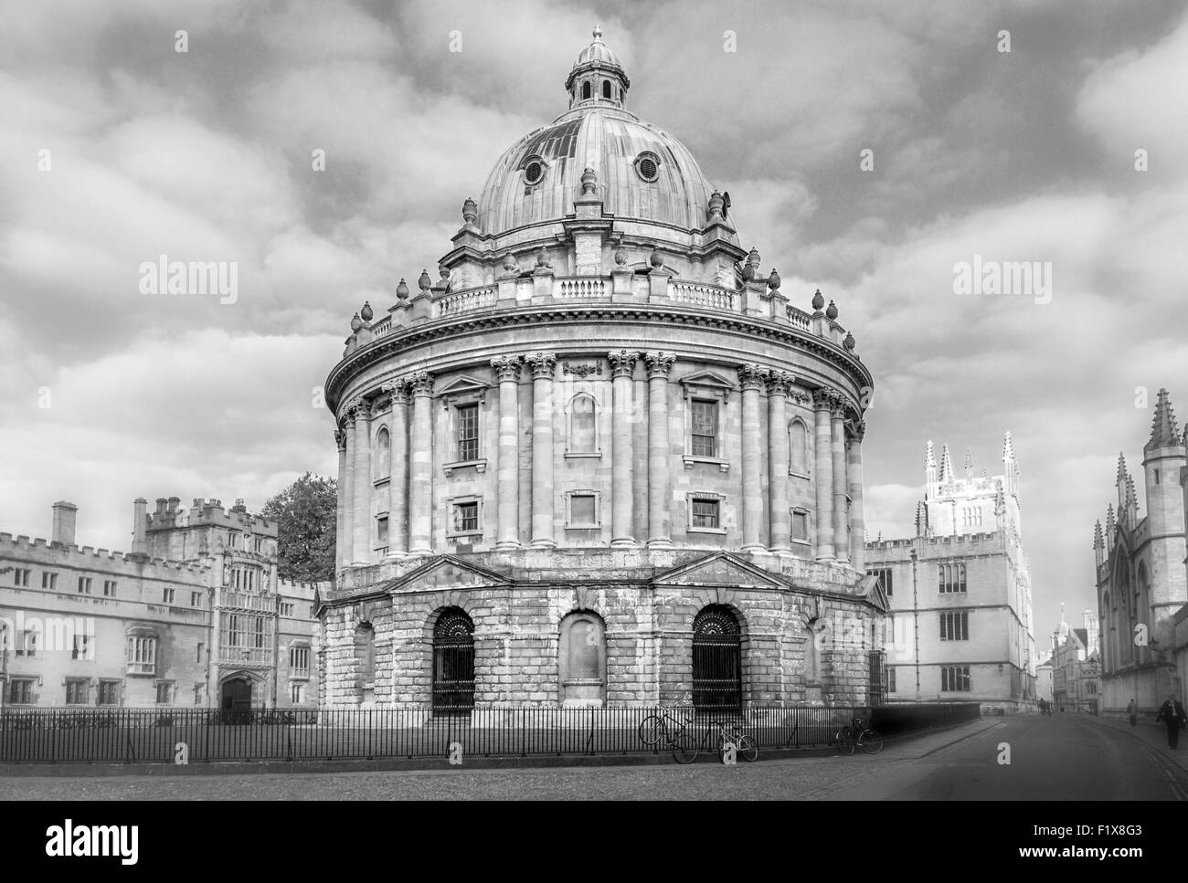 Radcliffe Camera, Oxford University, United Kingdom - Stock Image