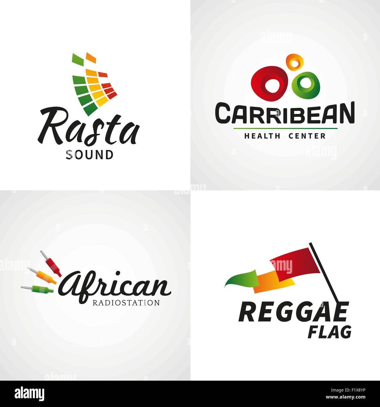 Reggae Music Jamaica Stock Vector Images - Alamy