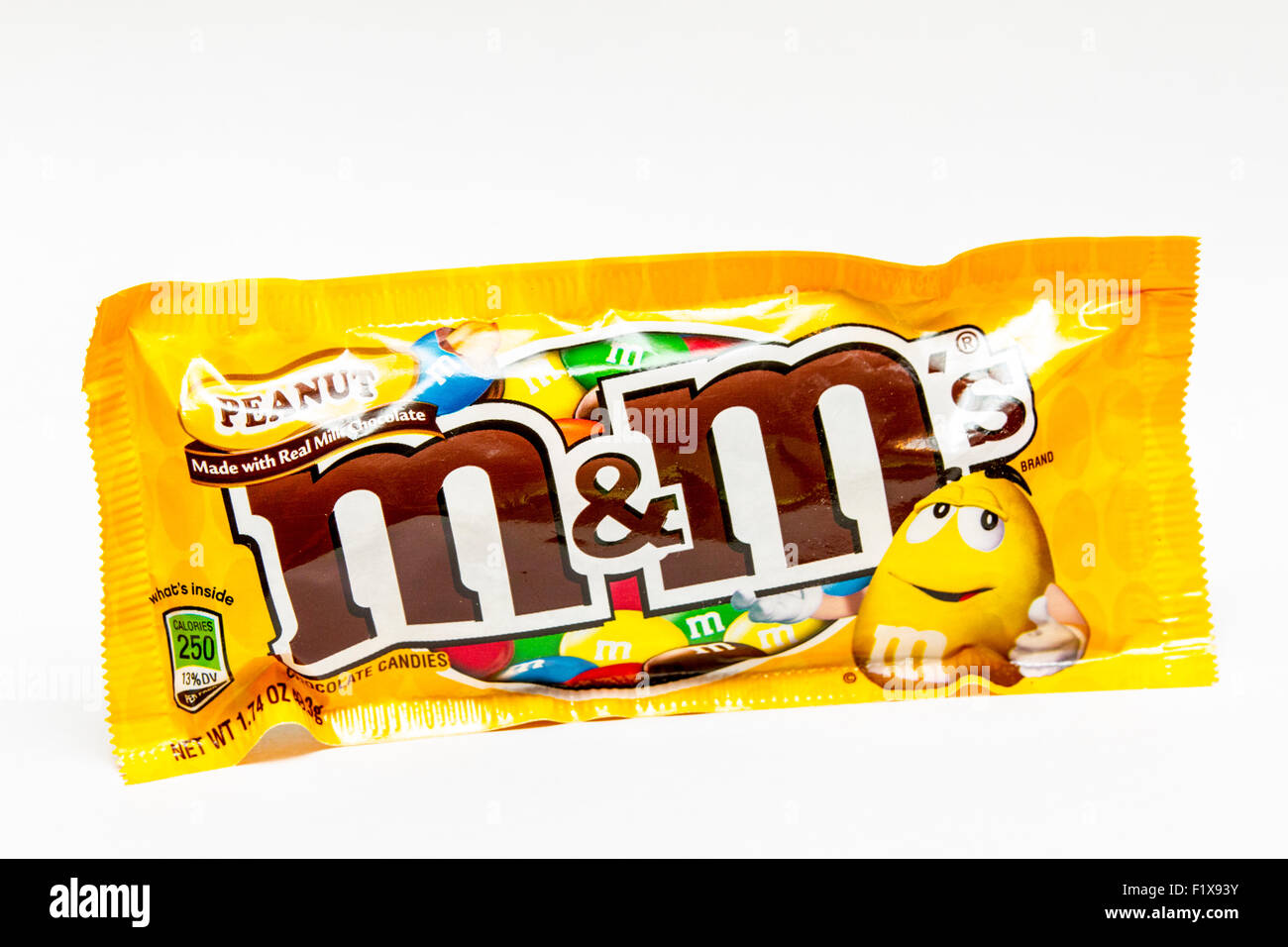 a bag of m m peanut candies stock photo 87244415 alamy