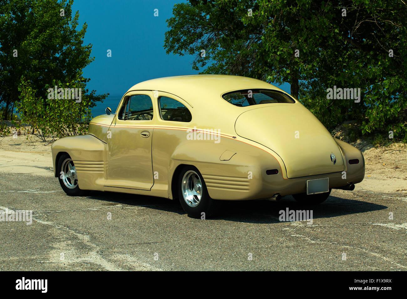 Pontiac Car Stock Photos Images Alamy 1941 Star Chief Custom Sedanette Image