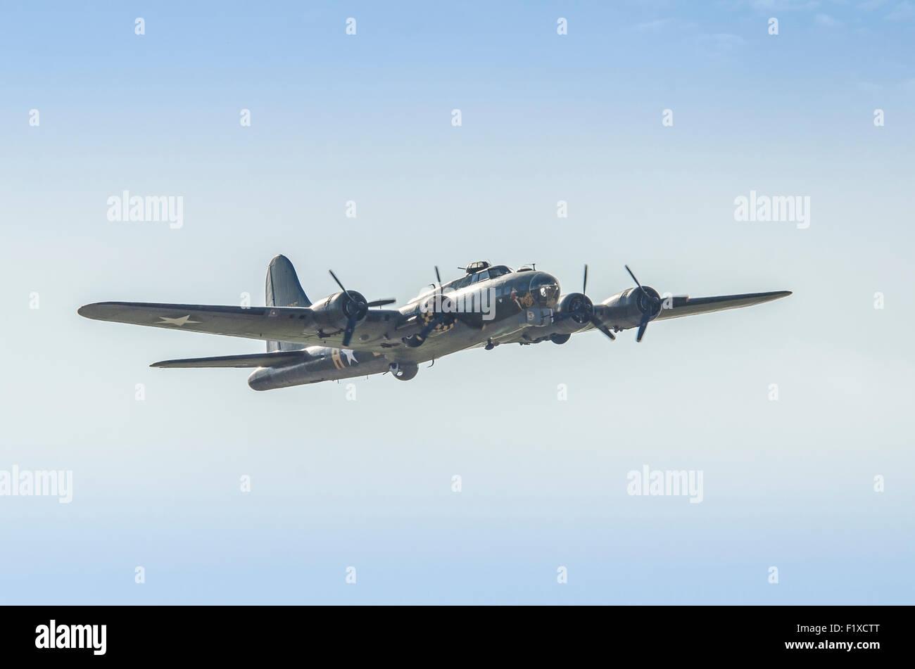 B17G Flying Fortress Sally B G-BEDF Stock Photo
