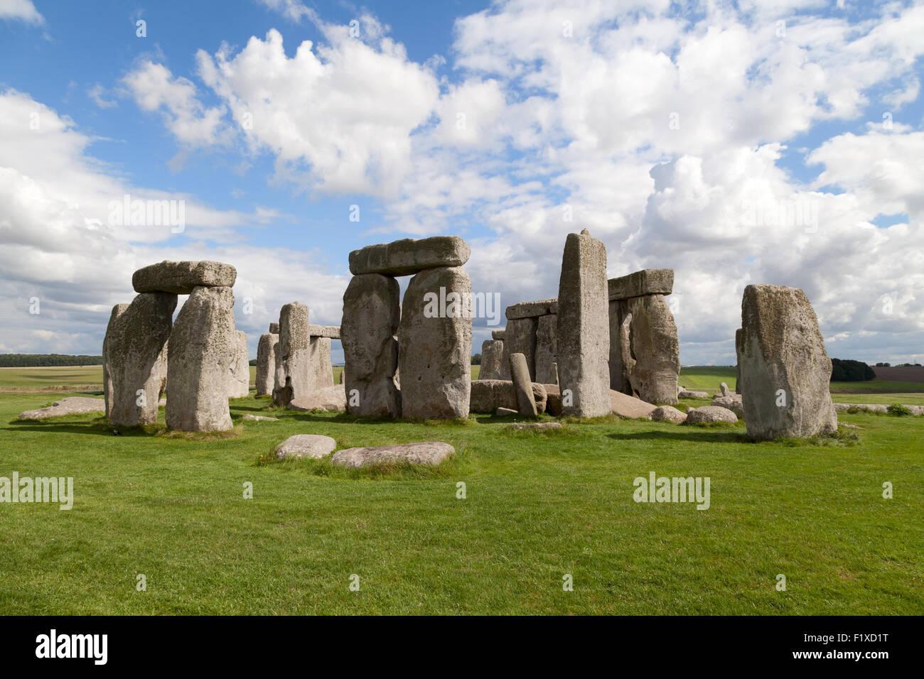 Stonehenge prehistoric neolithic monument and Unesco World Heritage site, Wiltshire England UK Stock Photo