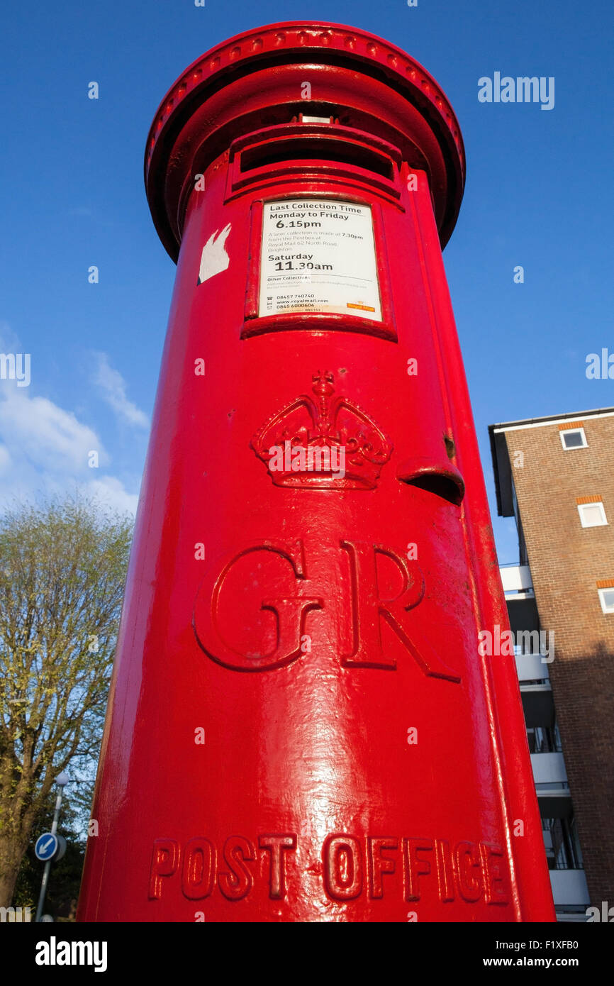 Royal Mail letterbox - Stock Image