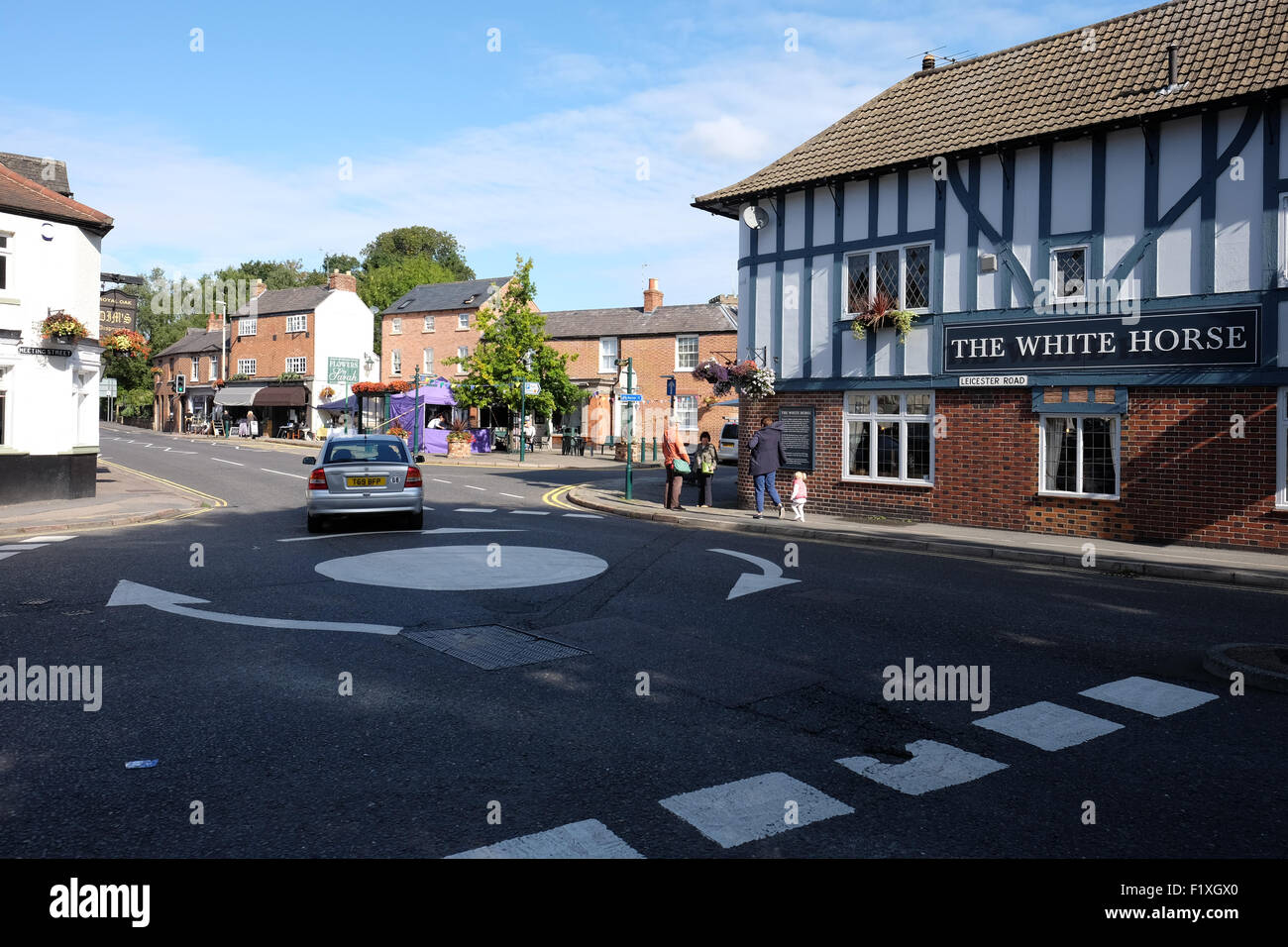 general view of quorn village in leicestershire Stock Photo - Alamy