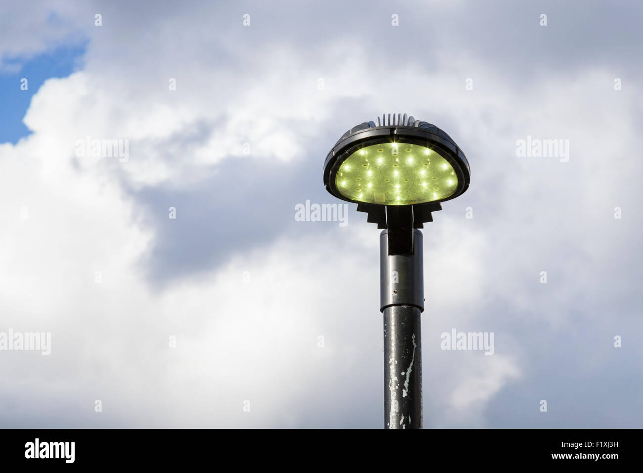 LED streetlight, England, UK - Stock Image