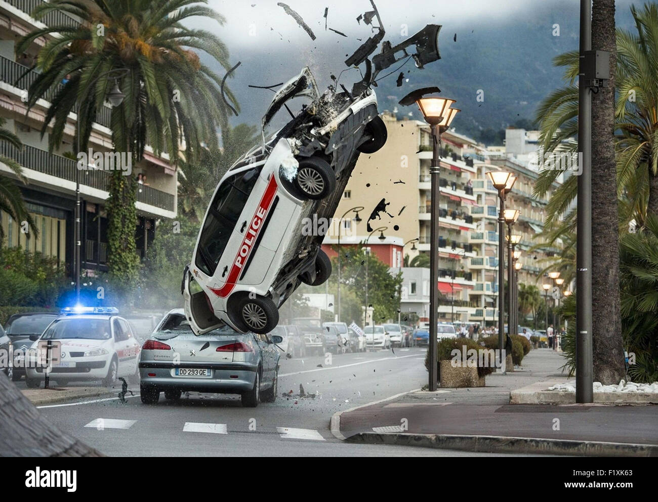 THE TRANSPORTER REFUELED 2015 EuropaCorp USA film - Stock Image