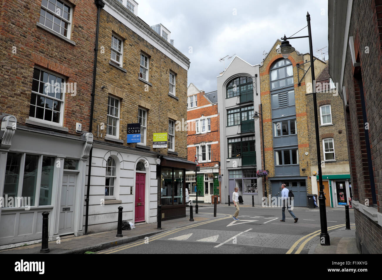 Property to let sign on buildings  corner Morocco Street  and Bermondsey Street in Bermondsey, Southwark London - Stock Image