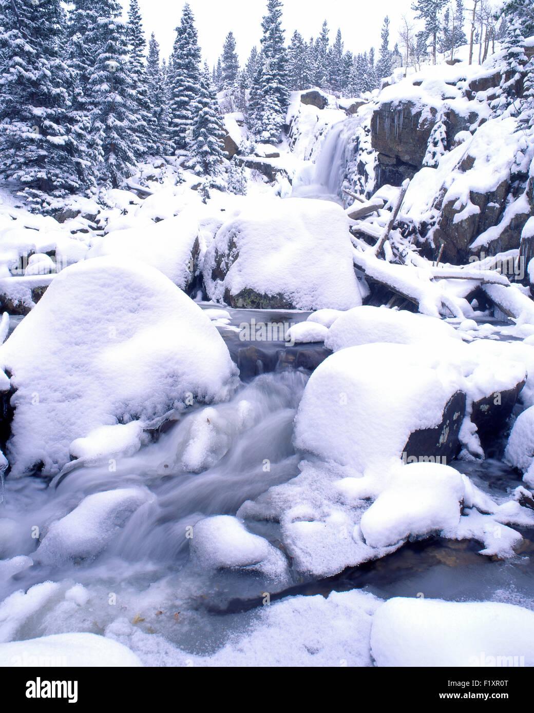Rocky Mountain National Park - Stock Image
