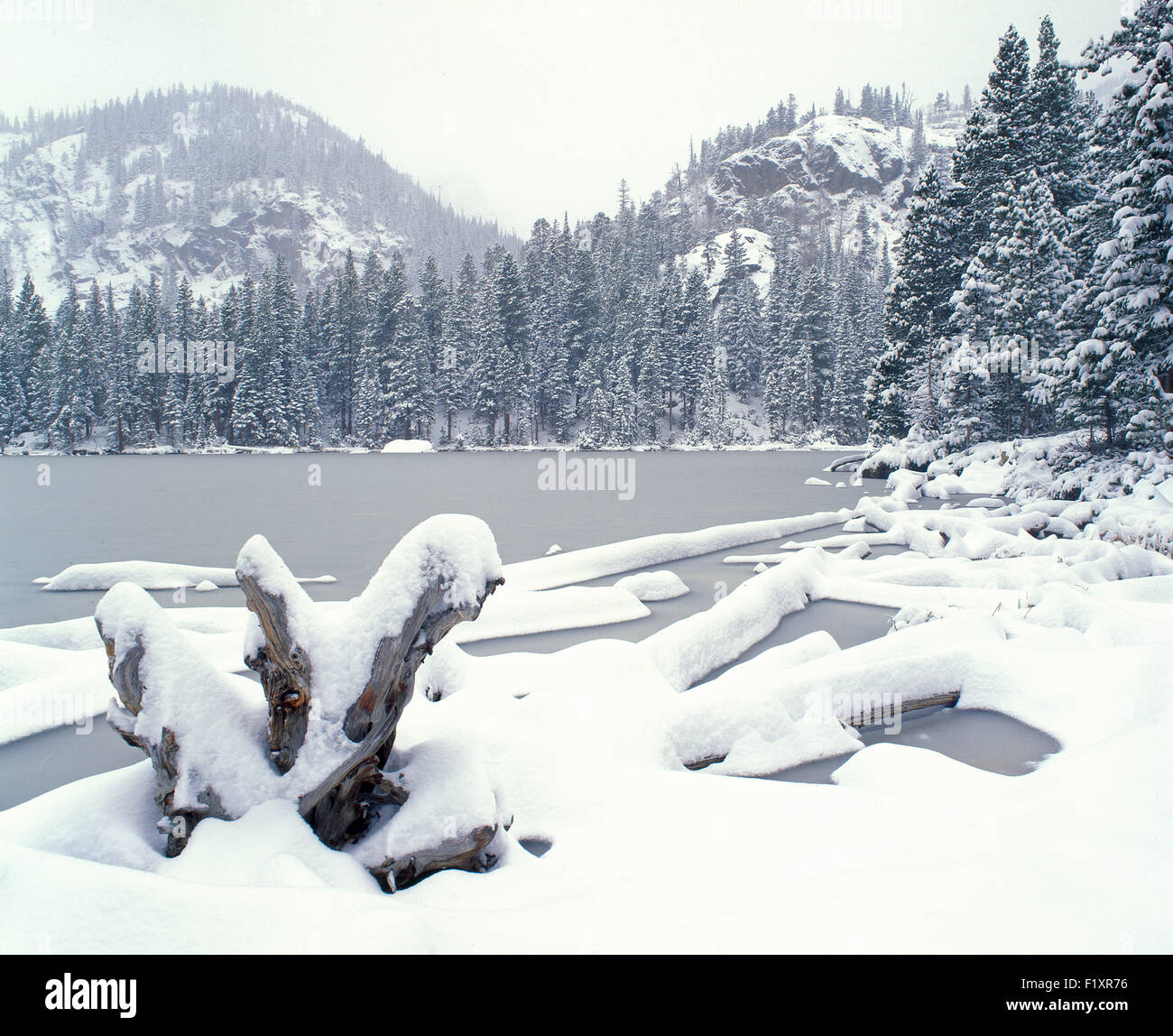 Rocky Mountain National Park Stock Photo