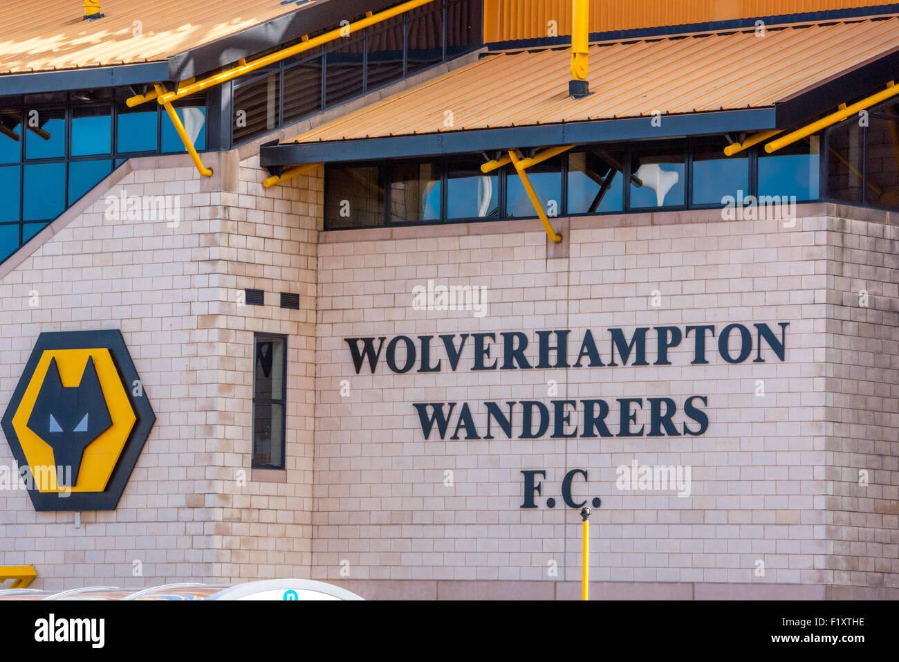Wolverhampton Wanderers Fc Molineux Ground Stock Photos