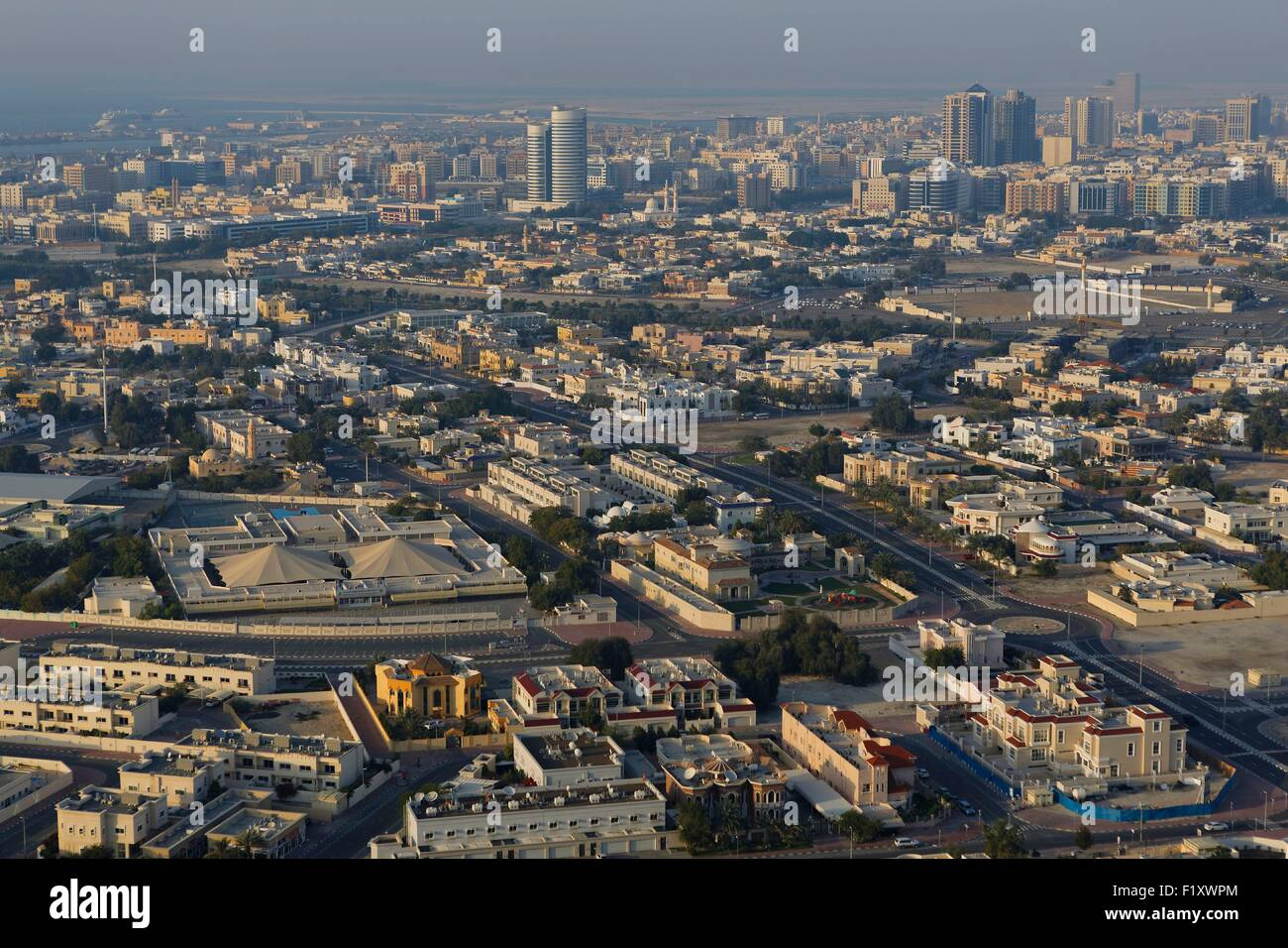United Arab Emirates, Dubai, Bur Dubai area - Stock Image