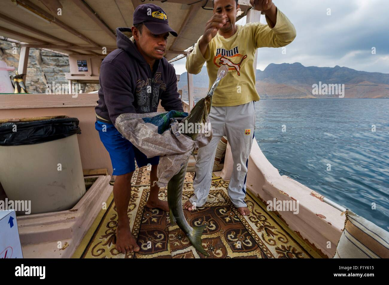 Fishing In Oman Stock Photos & Fishing In Oman Stock Images