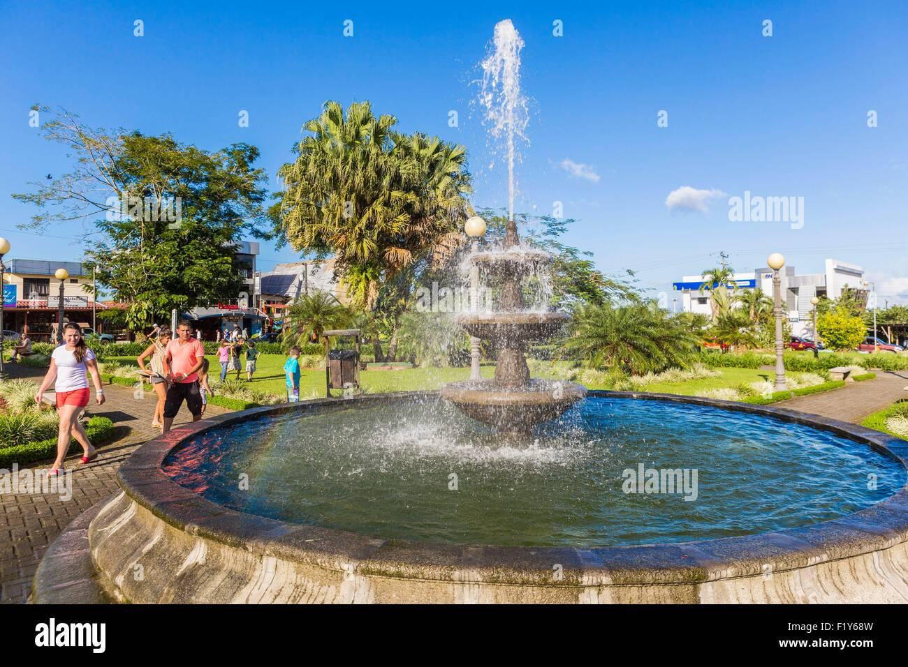 Costa Rica, Alajuela province, the village of La Fortuna - Stock Image