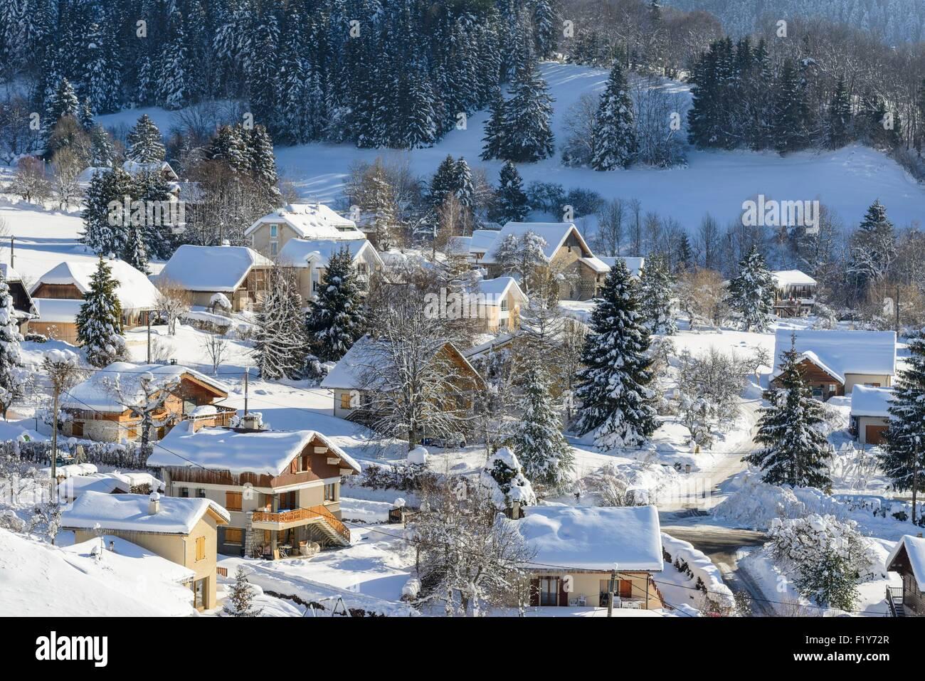 France, Isere, Chartreuse Regional Park, Le Sappey-en-Chartreuse - Stock Image