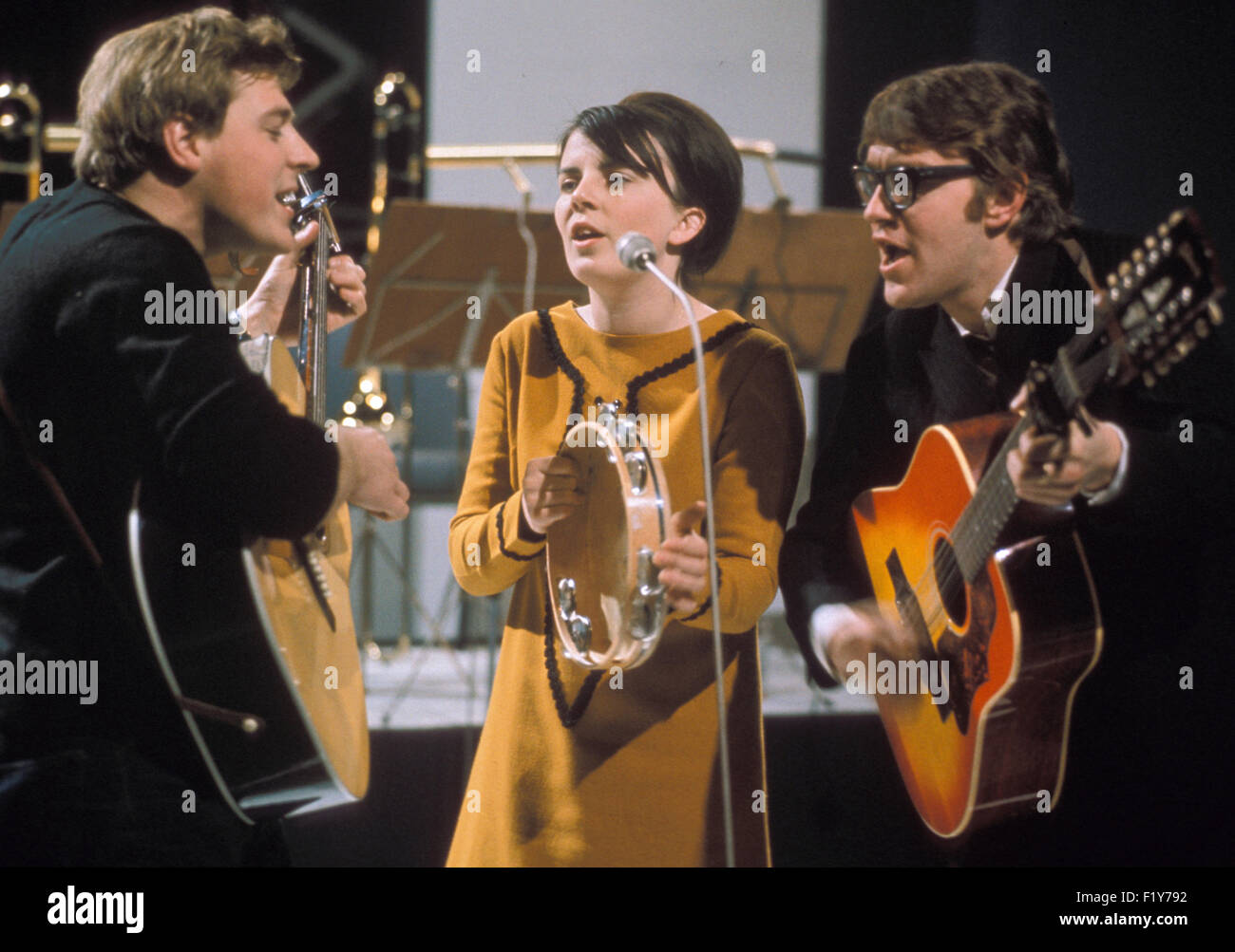 THE SILKIE  English folk music trio in 1965. Photo Tony Gale - Stock Image