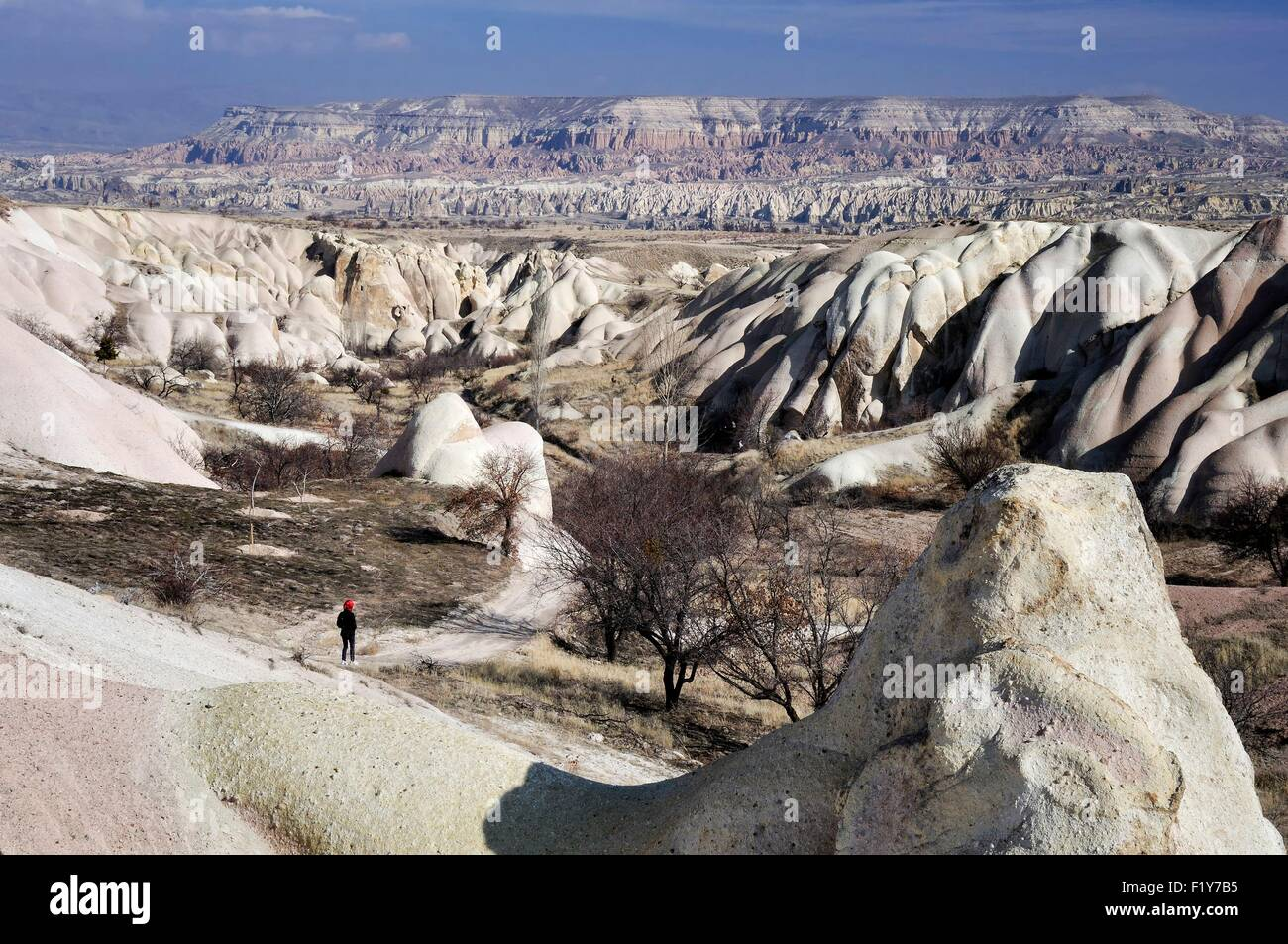 Turkey, Central Anatolia, Nevsehir Province, Cappadocia listed as World Heritage by UNESCO, Goreme national park, - Stock Image