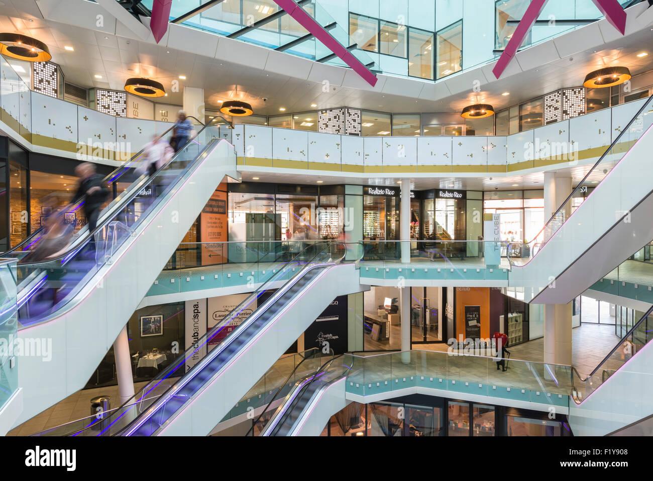 The Cube building, Birmingham, England - Stock Image