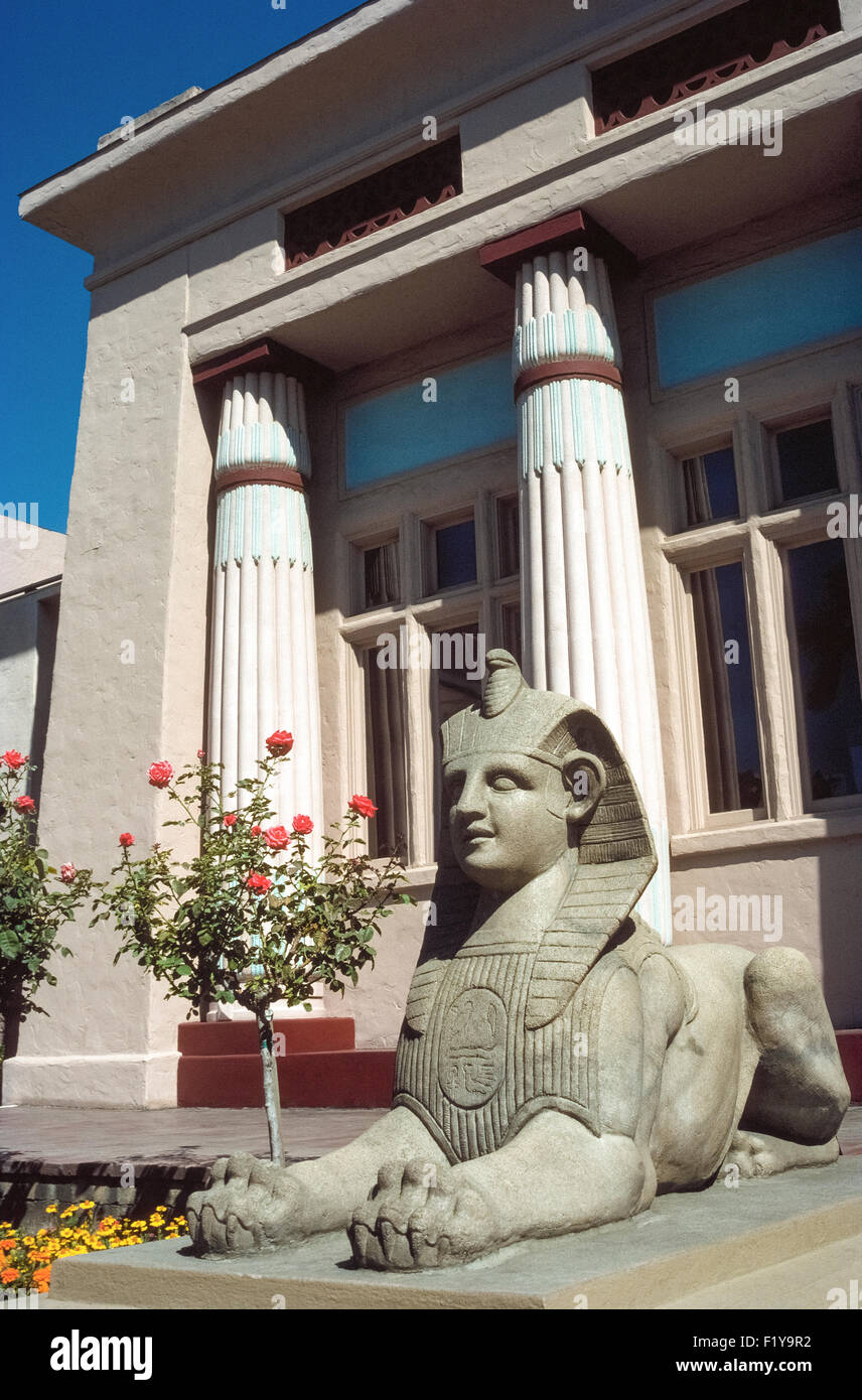 More than 4,000 artifacts from ancient Egypt can be found in the Rosicrucian Egyptian Museum in San Jose, California, - Stock Image