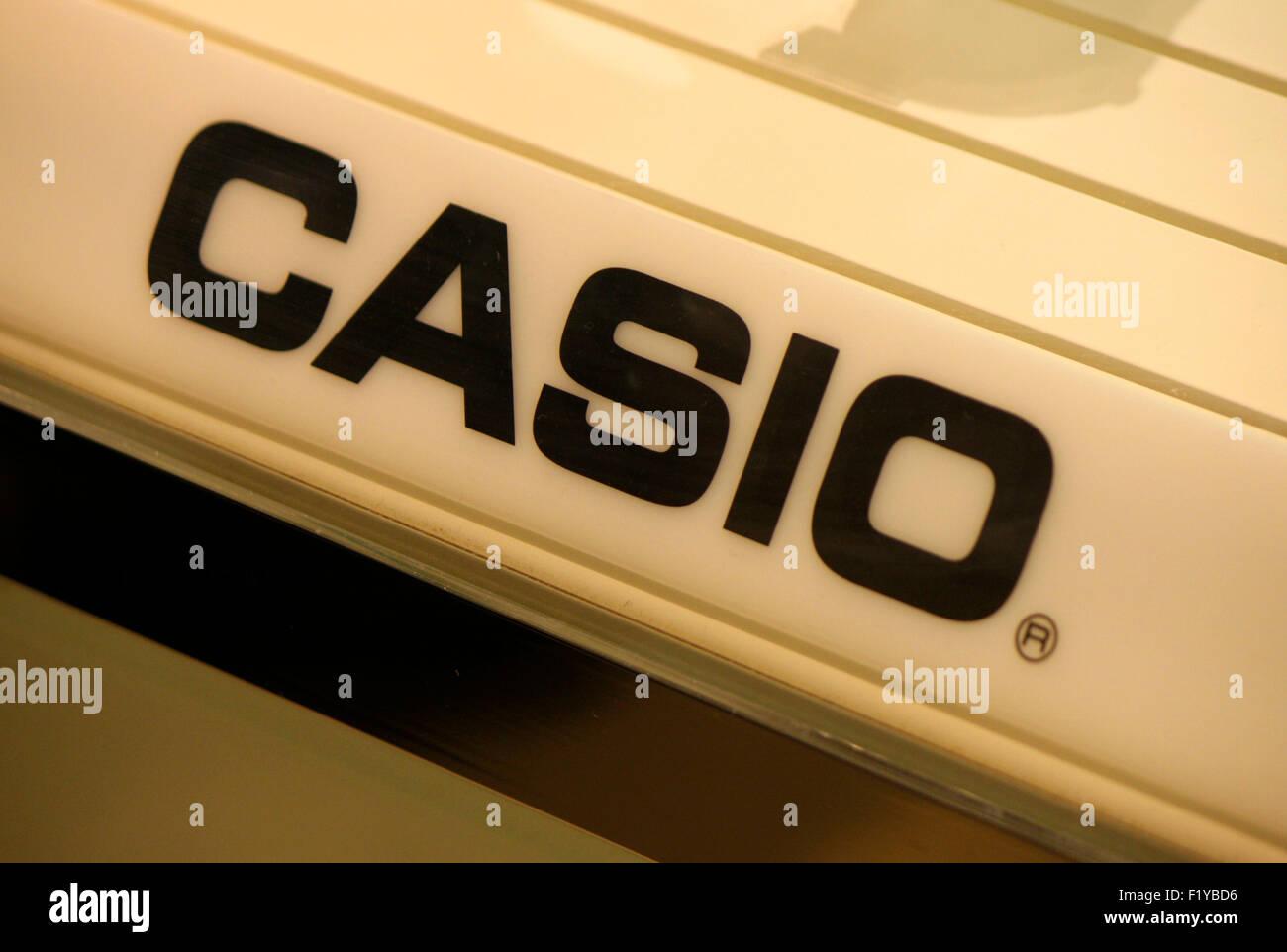 Markenname: 'Casio', Dezember 2013, Berlin. - Stock Image