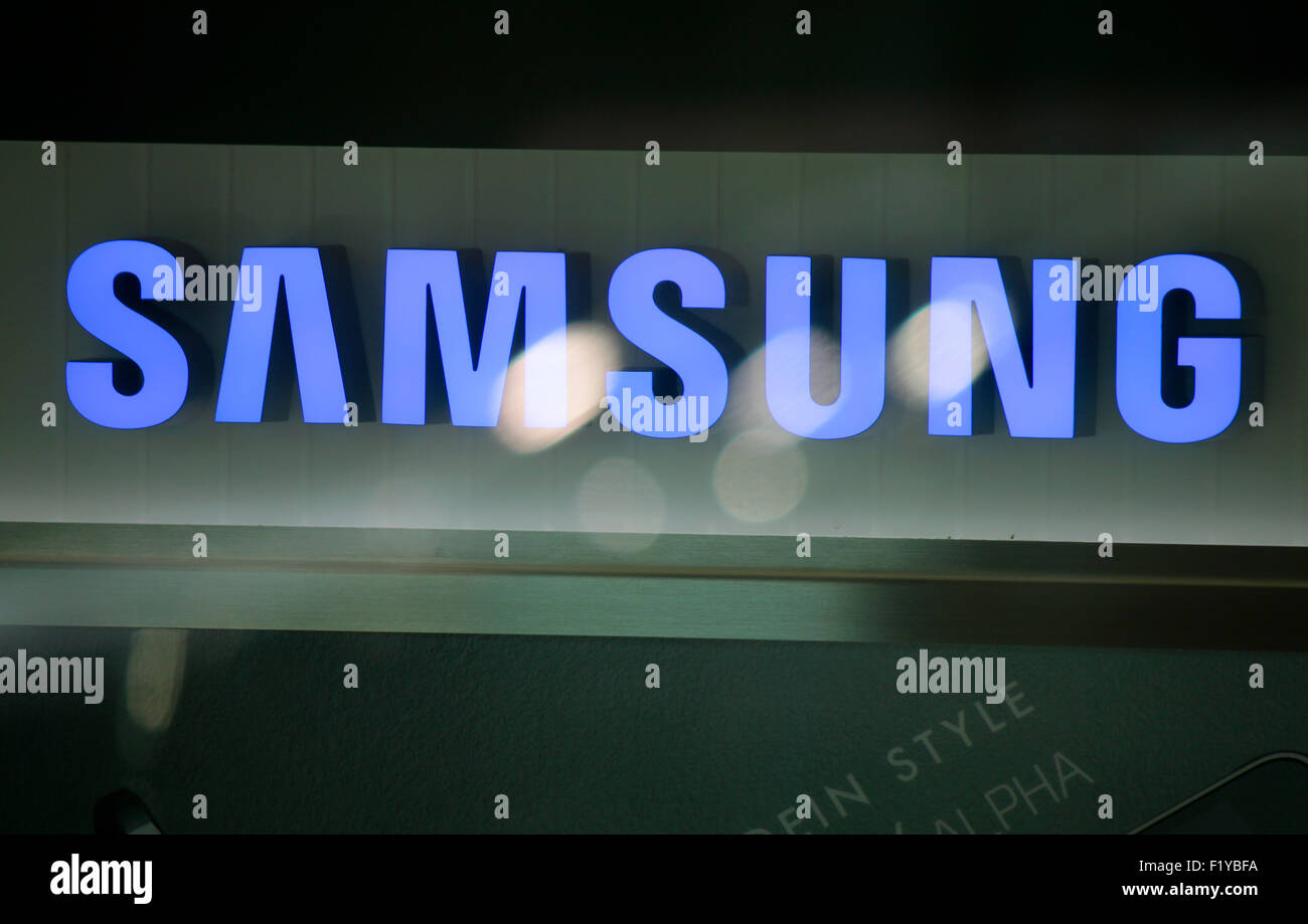 Markennamen: 'Samsung', Berlin. - Stock Image