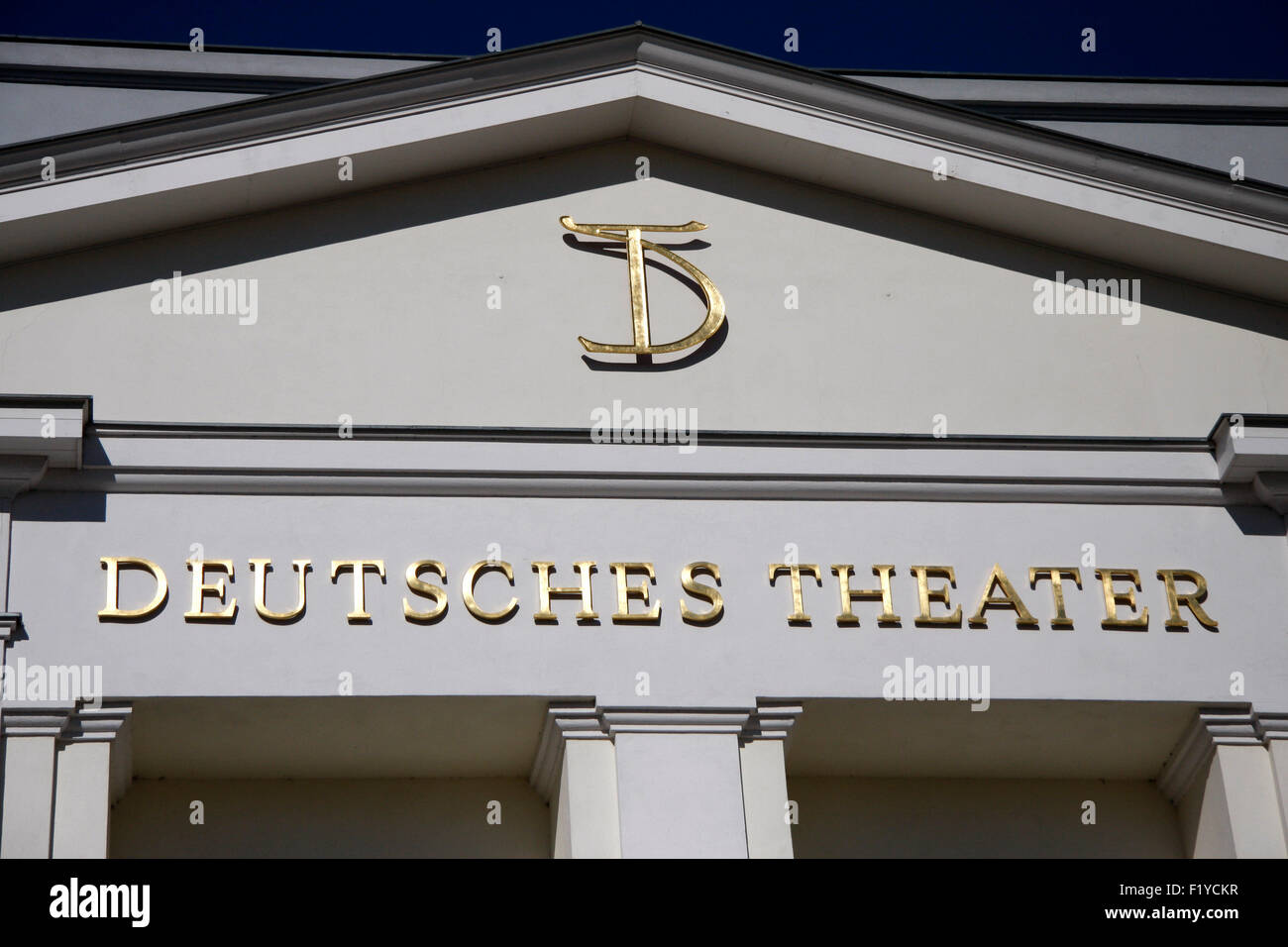 Deutsches Theater, Berlin-Mitte. - Stock Image