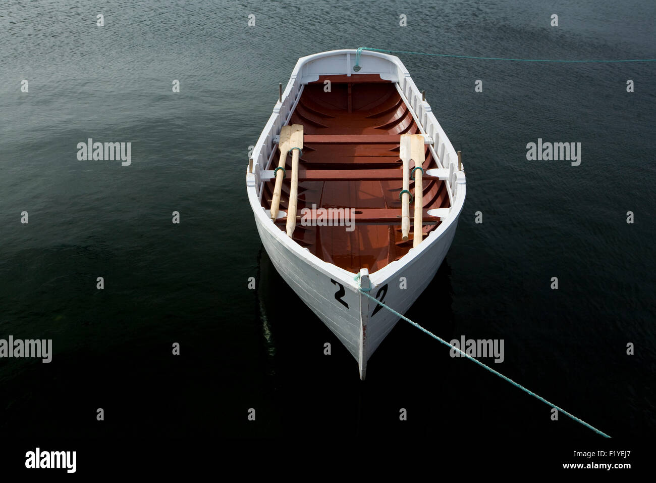 First,Light,1 Object,Atlantic Ocean,Boat,Boats - Stock Image