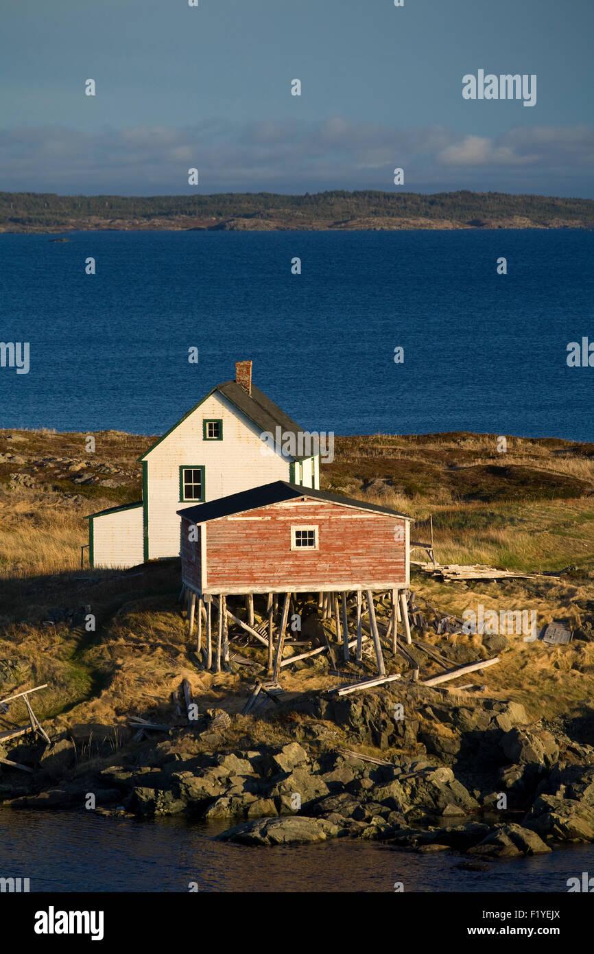 First,Light,Atlantic Ocean,Building,Buildings - Stock Image
