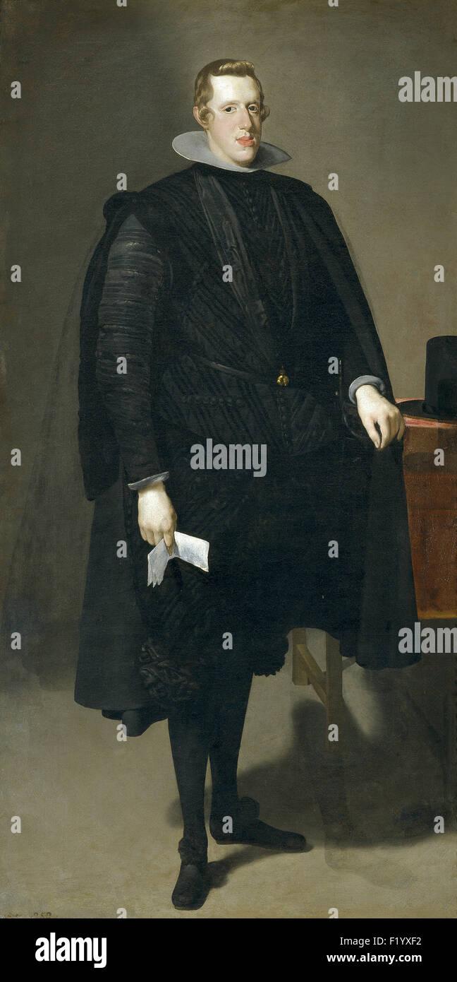 Diego Velázquez - Philip IV 1 Stock Photo
