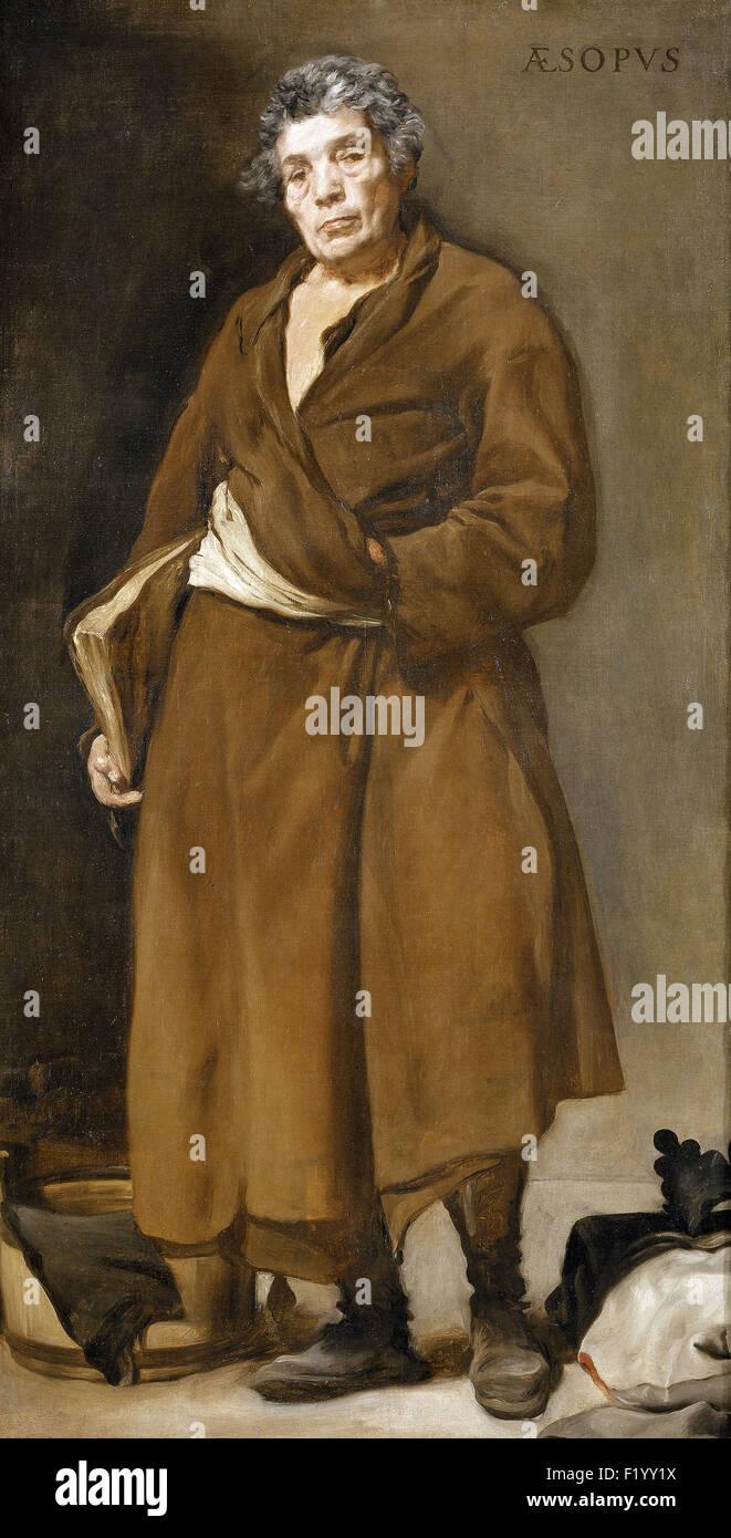 Diego Velázquez - Aesop - Stock Image