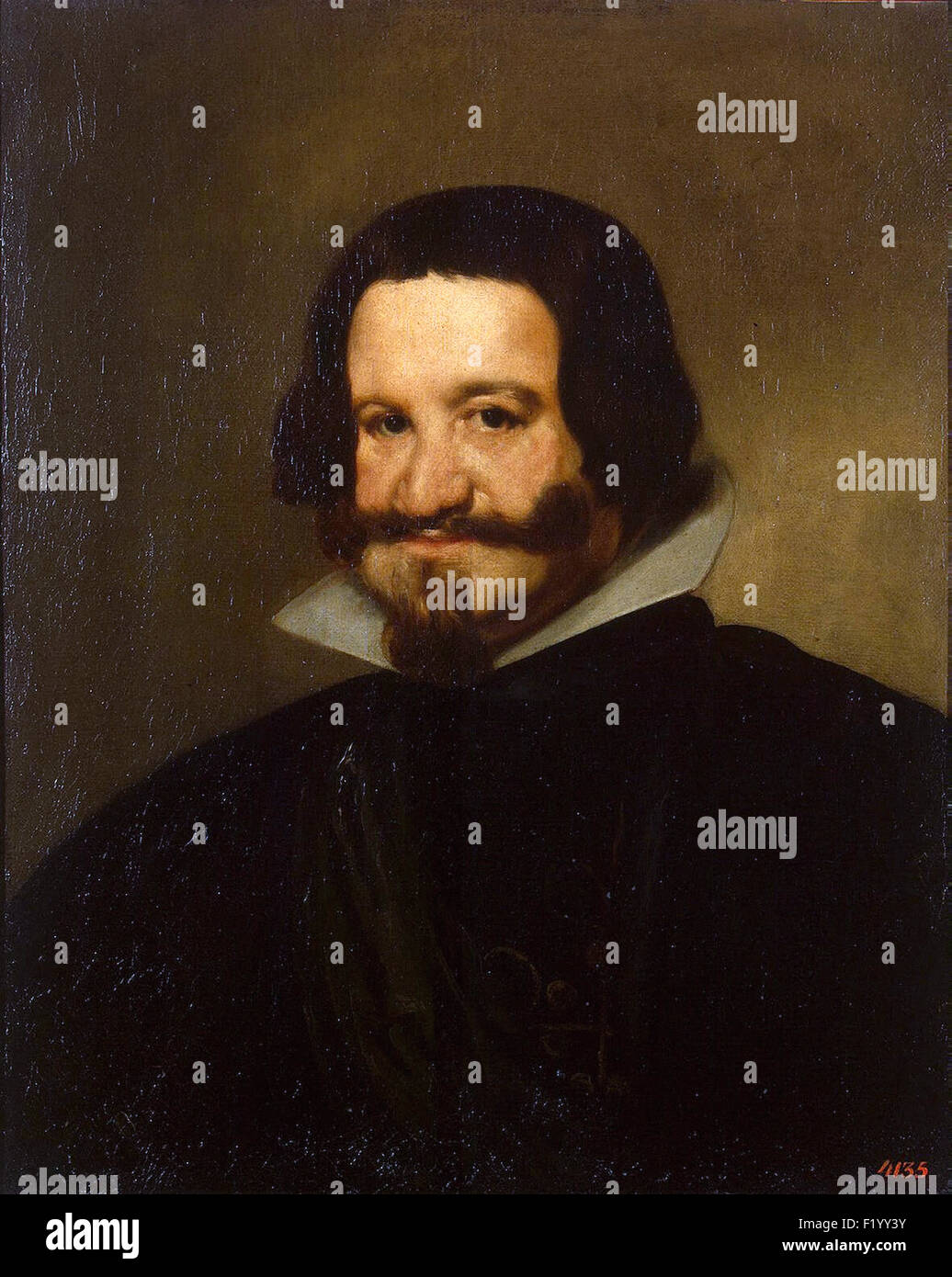 Diego Velázquez - Portrait of Count Duke Olivares - Stock Image